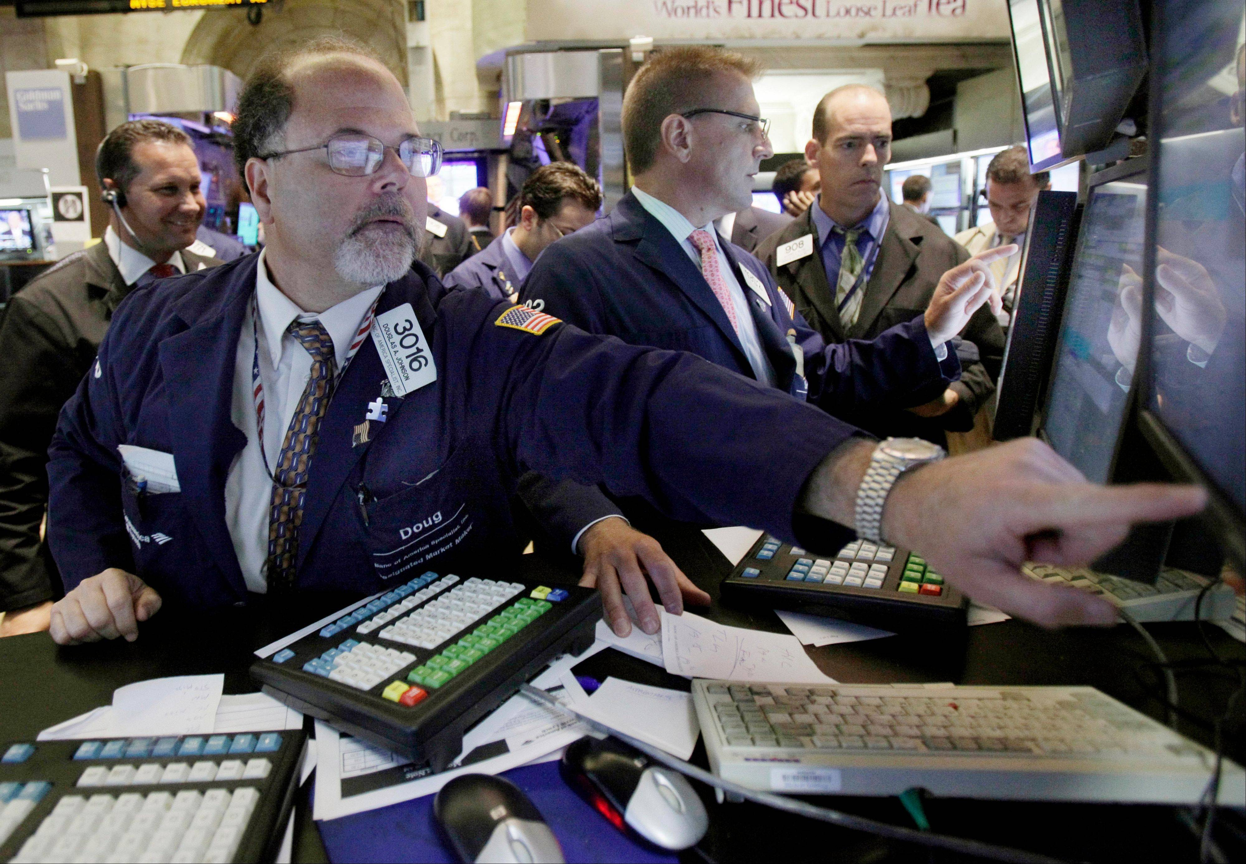 Uncertainty on Wall Street over whether Washington will resolve the debt crisis has led to a very jittery market.