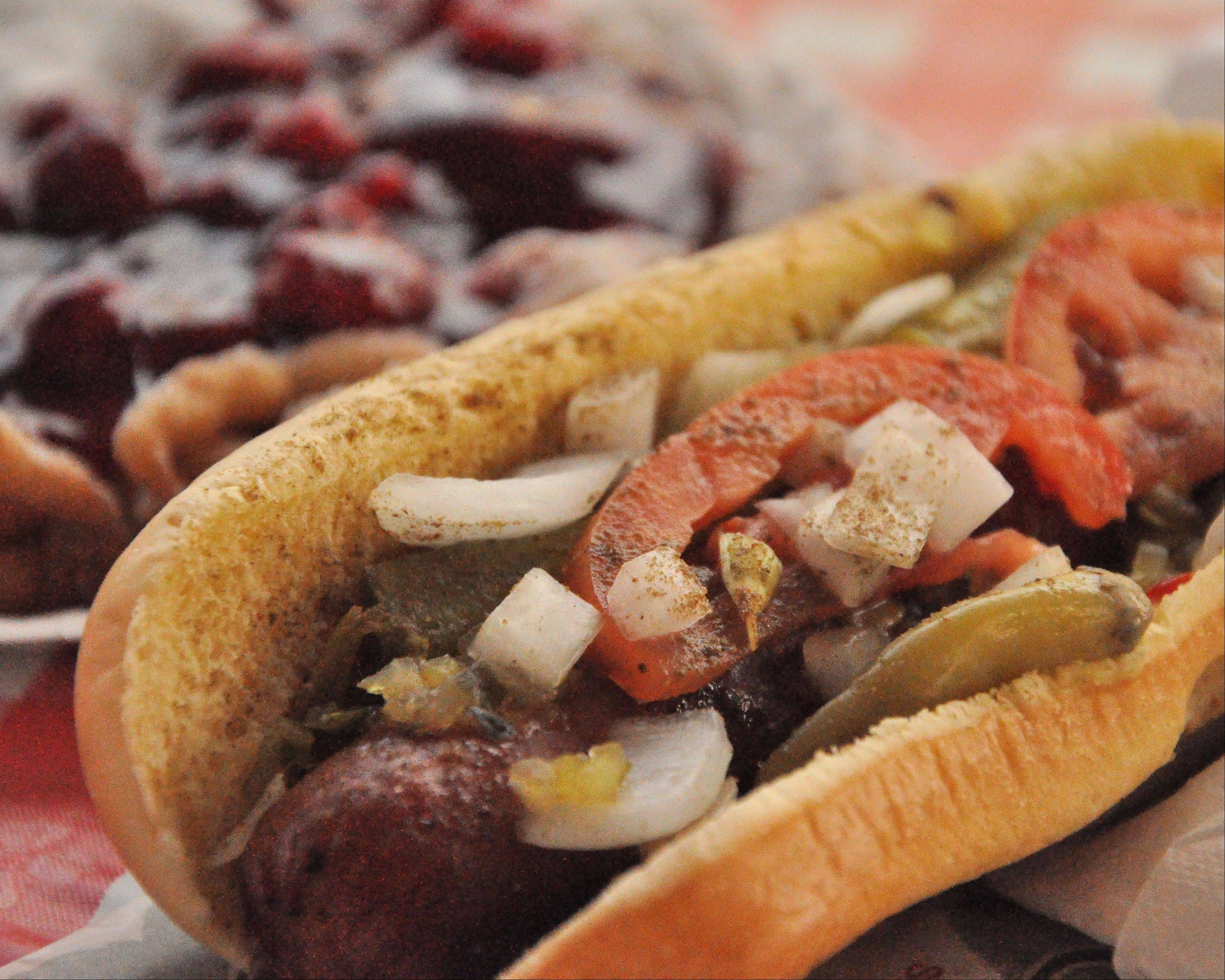Courtesy of Patrick SpencePatrick Spence of Naperville won first place in the inaugural DuPage County Fair Photography Shoot-Out contest with his close-up of a hot dog with the works.