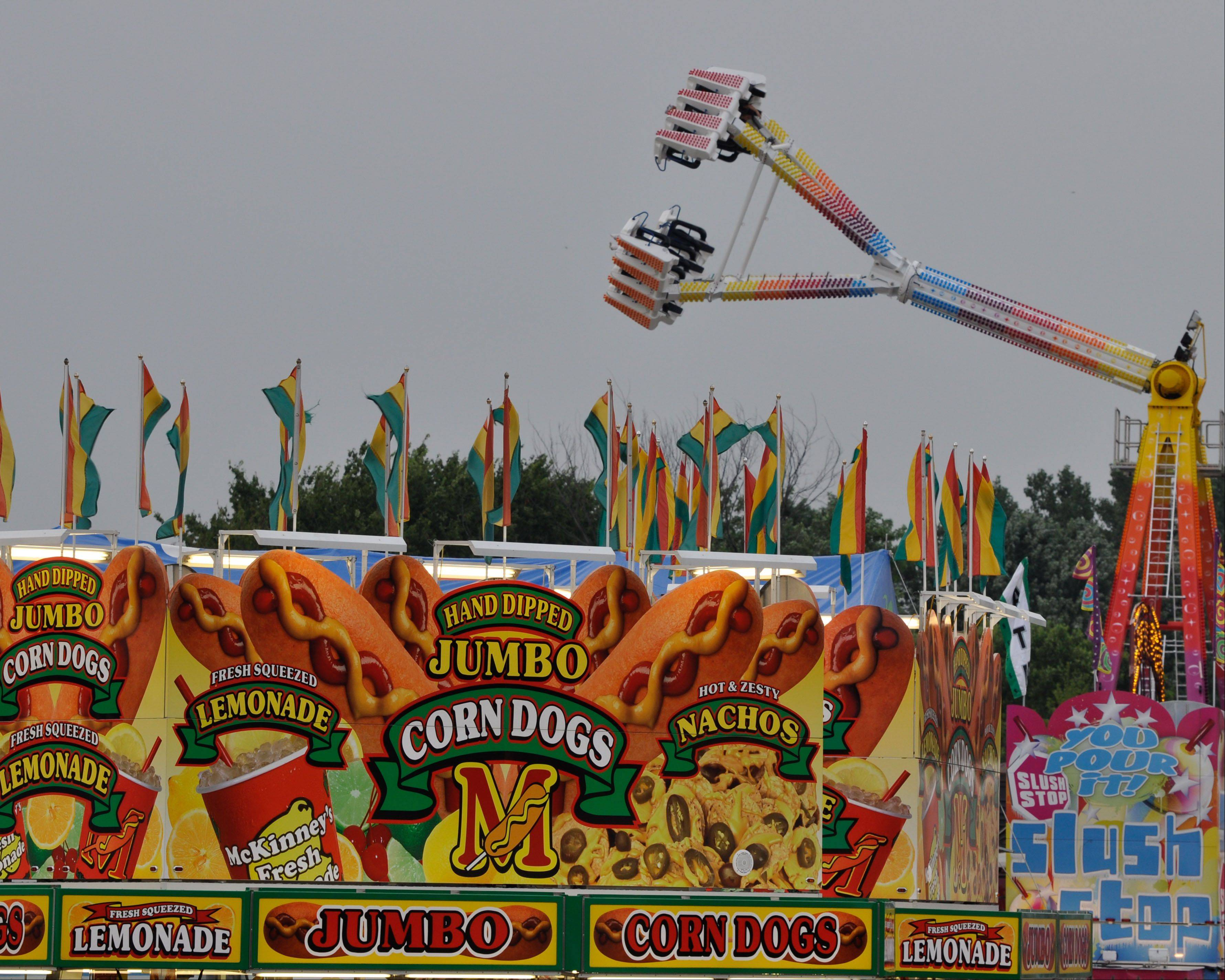Courtesy of Greg PerishoGreg Perisho of Winfield placed second in the DuPage County Fair Photography Shoot-Out with this image of the carnival.
