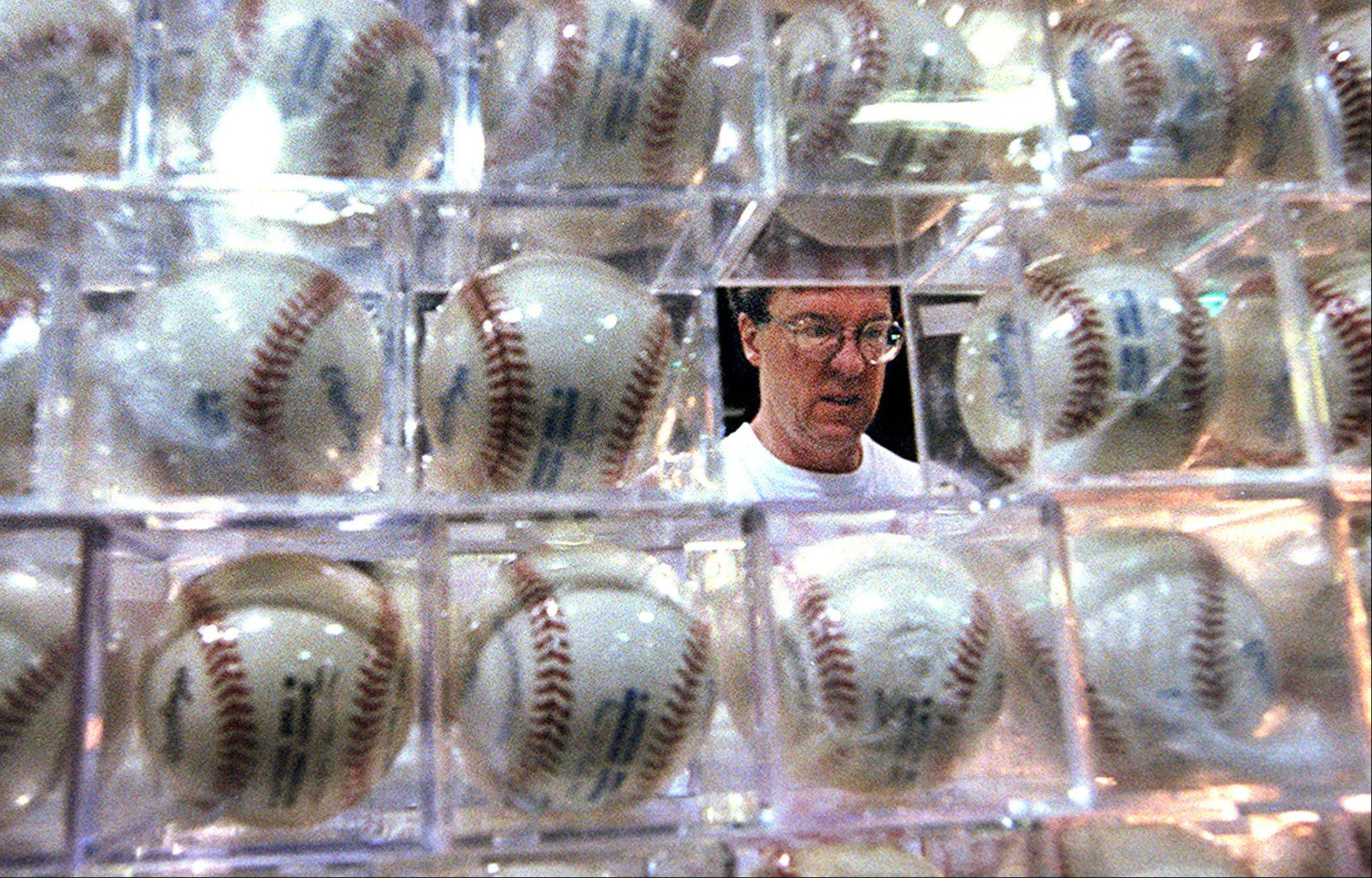 Plenty of autographed baseballs will be for sale at the show.