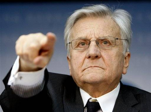 President of European Central Bank Jean-Claude Trichet