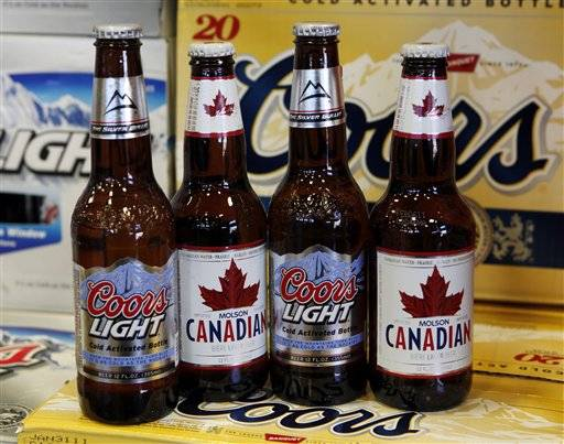 Molson Coors Brewing Co. says that its profit fell 6 percent in the second quarter, as increased prices and cost cuts were more than offset by lower sales volumes and higher commodity costs.