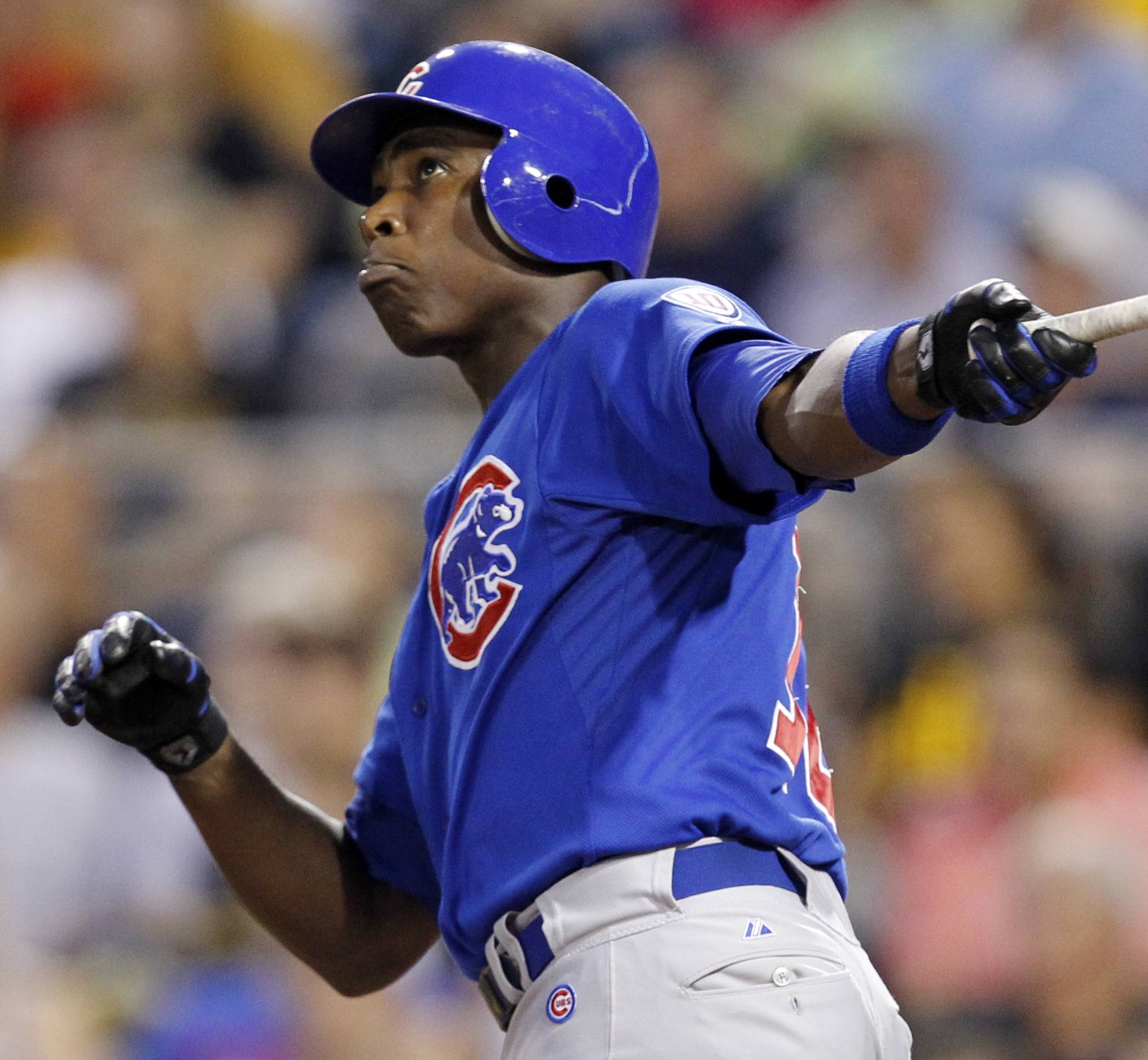 Alfonso Soriano hit two of the Cubs' season-high six home runs and the Cubs had a season-best 23 hits in an 11-6 victory over the fading Pittsburgh Pirates on Tuesday night.