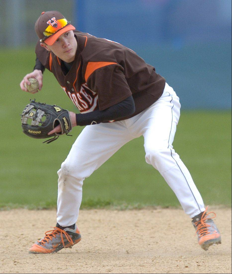 Hersey shortstop Tyler Perkowitz made a verbal commitment to Miami University in Ohio on Monday.