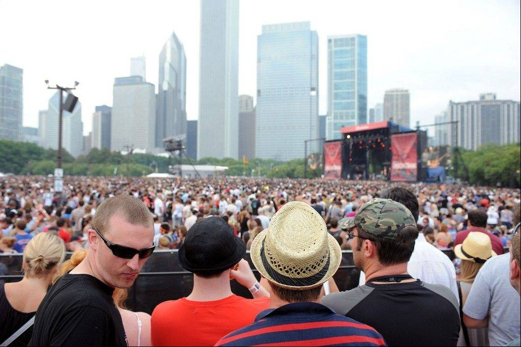Big crowds are expected in Grant Park this weekend as Lollapalooza celebrates its 20th anniversary.