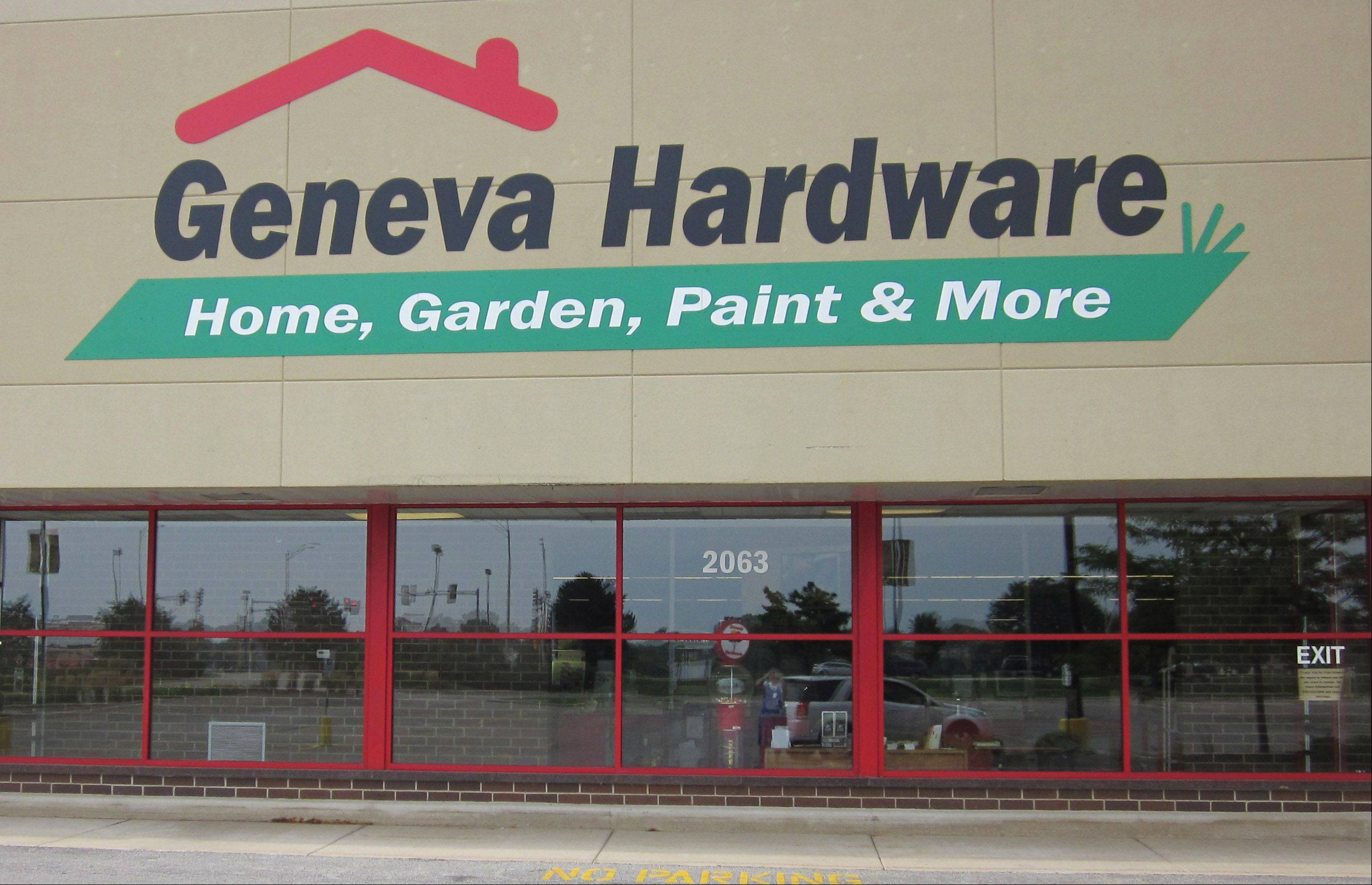 Geneva Hardware closed Monday after more than 80 years in business.