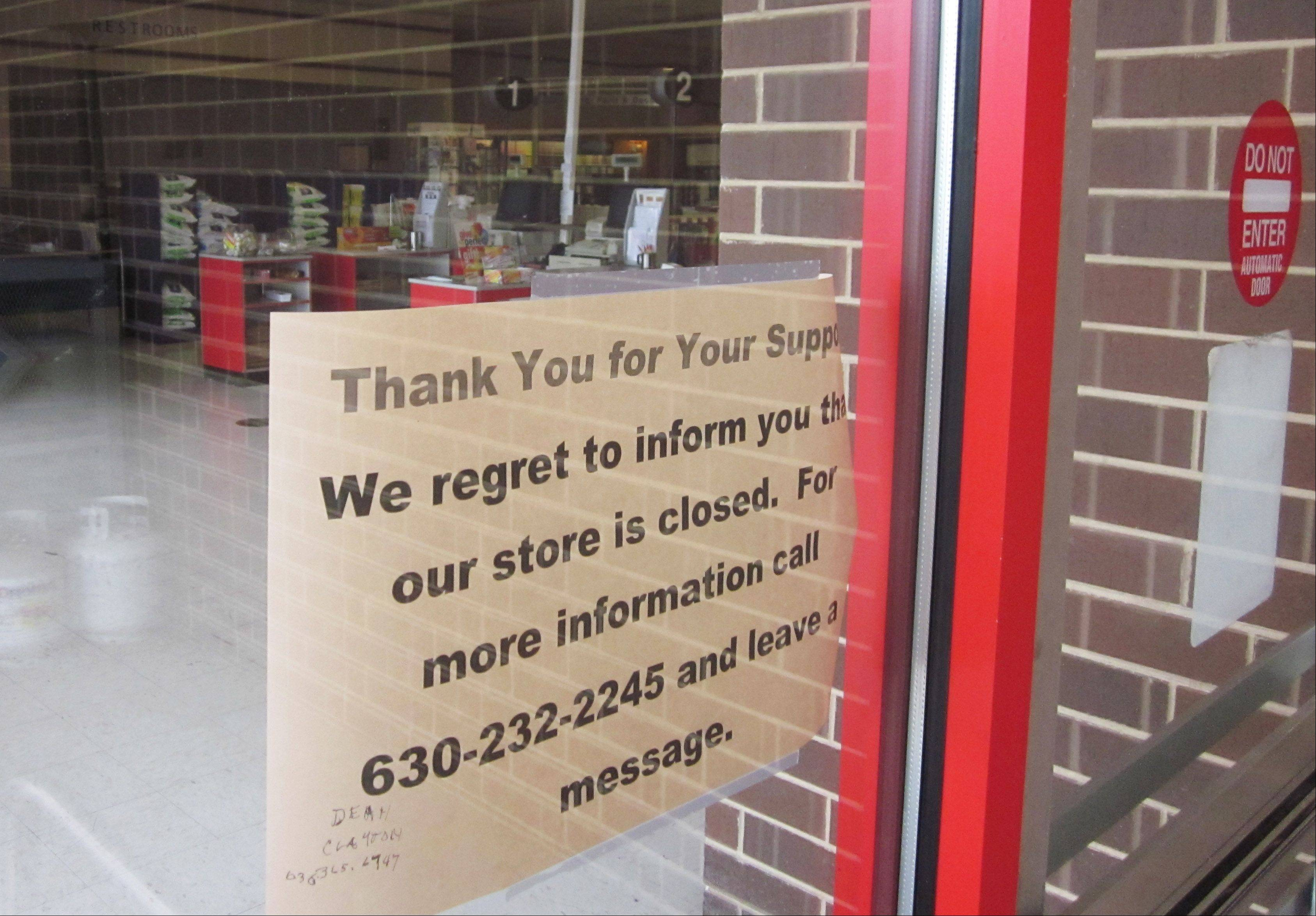 Geneva Hardware suddenly closed Monday after more than 80 years in business.