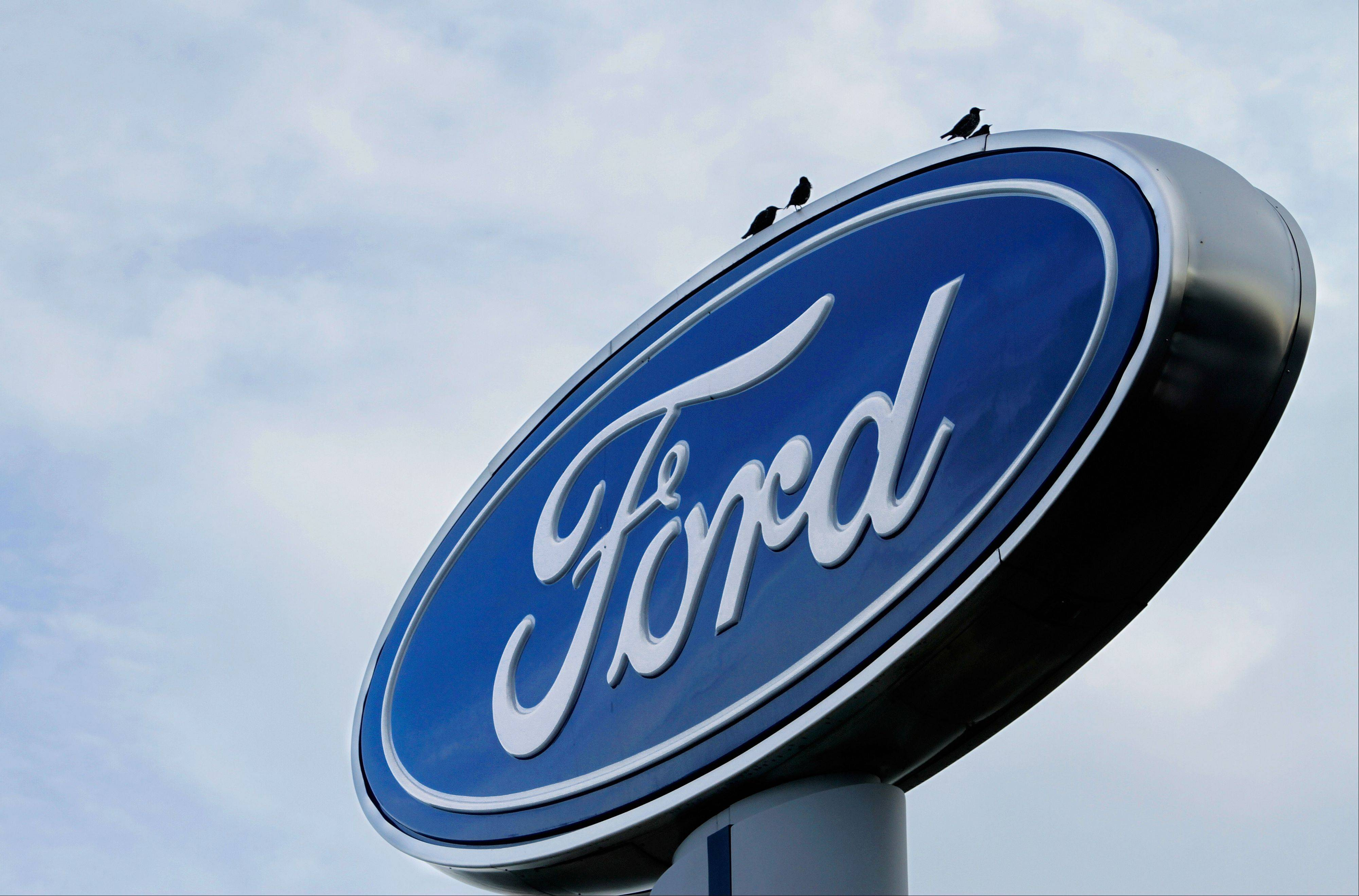 Ford Motor Co. said Tuesday its U.S. sales rose 6 percent in July, boosted by small cars and SUVs.