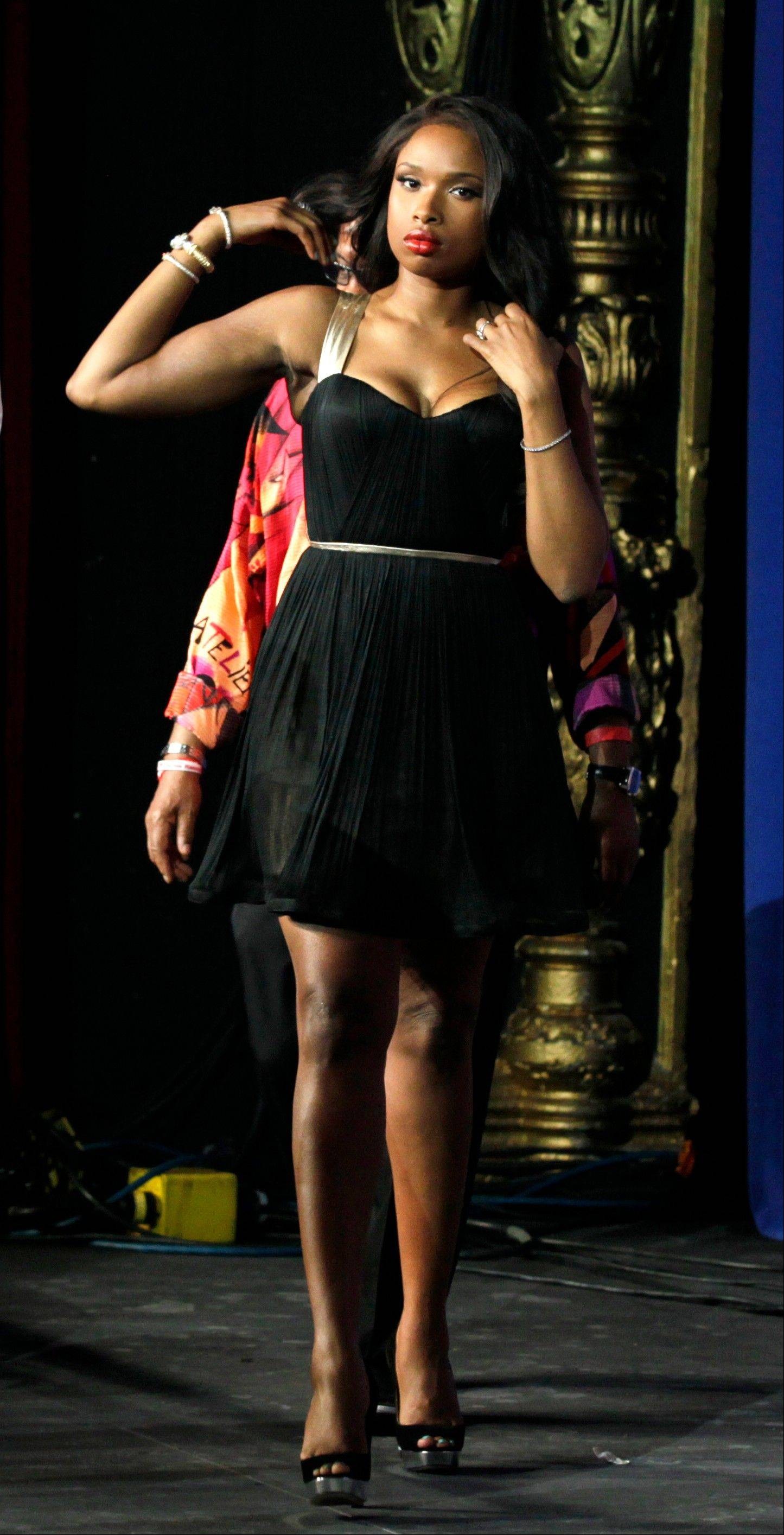 SingerJennifer Hudson was one of the celebs who showed up to stump for President Barack Obama Wednesday at the Arargon Ballroom.