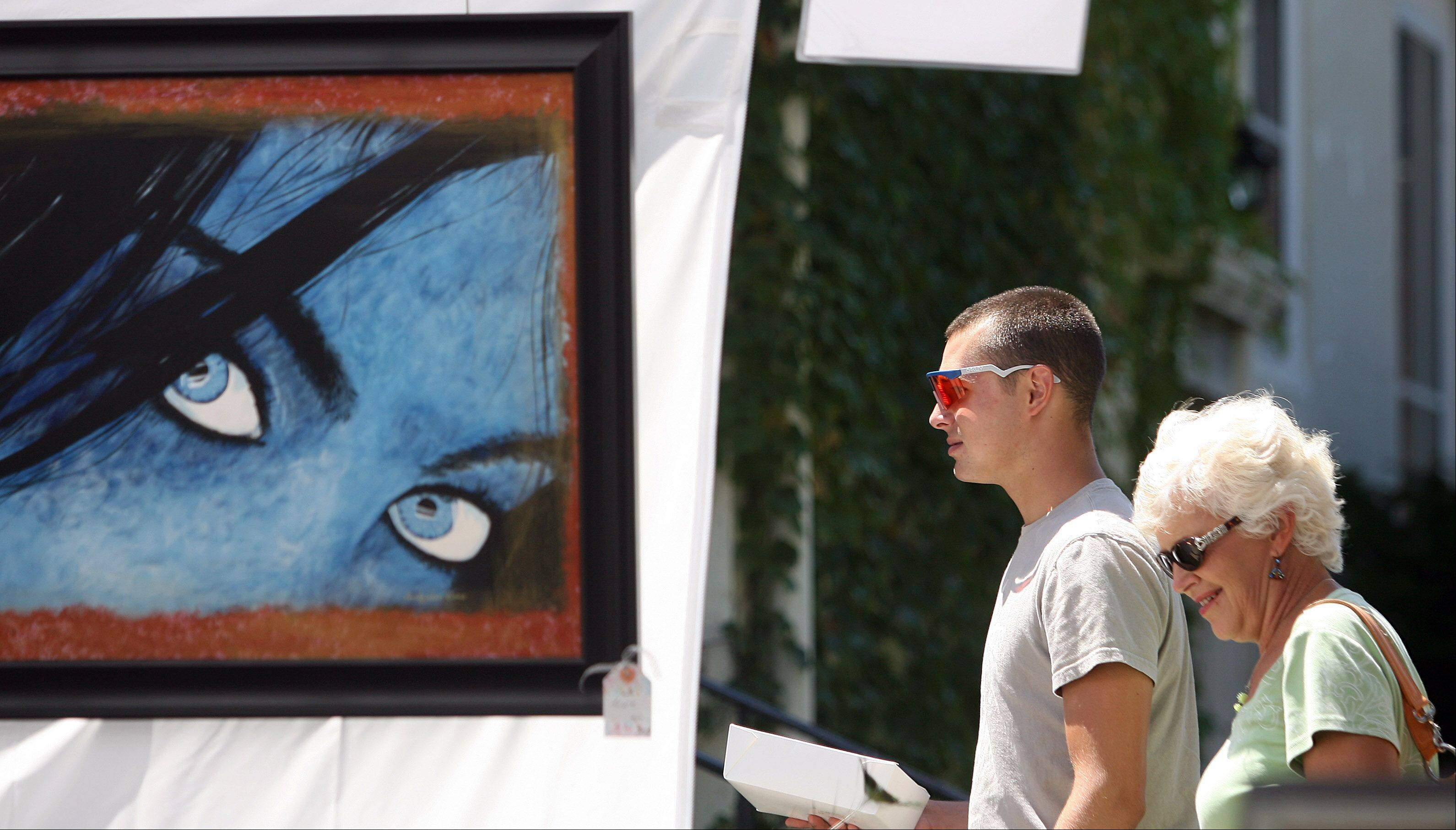 Daily Herald File Photo The 31st annual David Adler Music and Arts Center's Festival of the Arts returns to Cook Park in Libertyville Aug. 6-7.