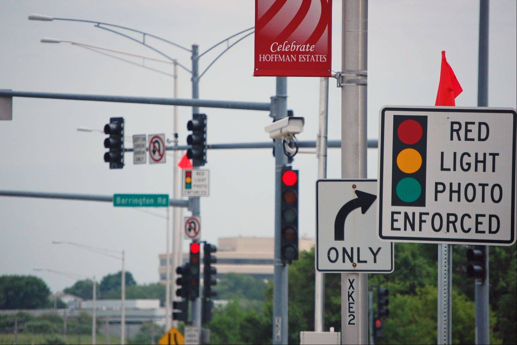 Hoffman Estates will begin ticketing for red-light violations