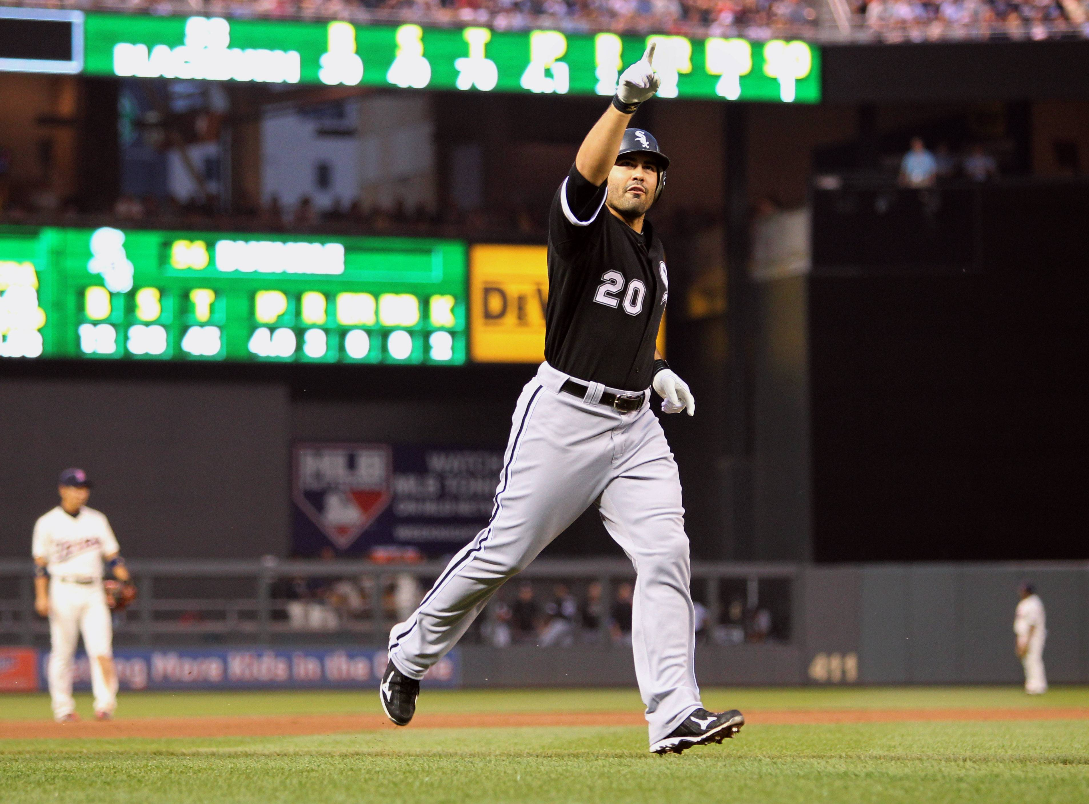 Carlos Quentin hit two home runs and had four RBIs in the White Sox' 5-3 win Friday night.
