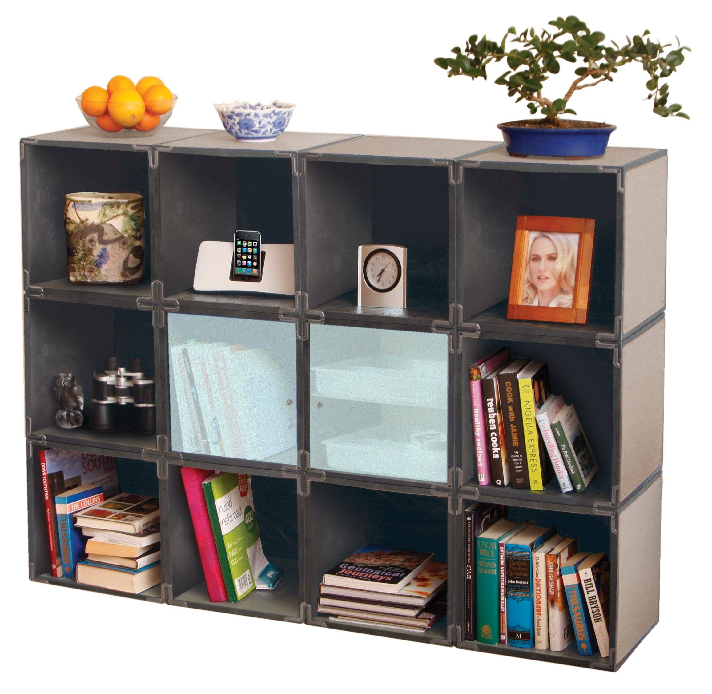 Yube Cubes start at $29.50 each and all kinds of personalization is available. This wall unit is $354.