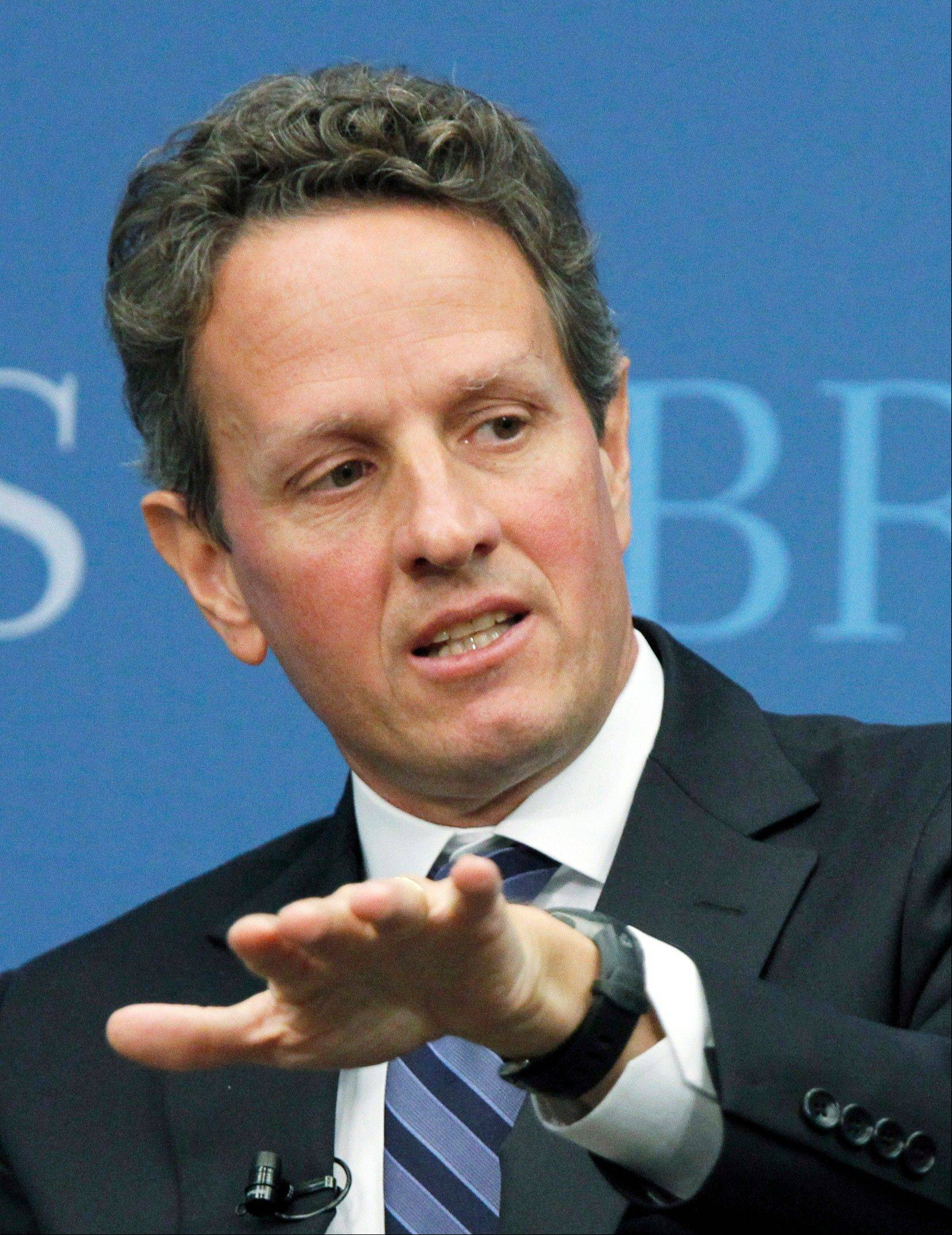 Timothy Geithner has told President Barack Obama he will remain on the job as Treasury secretary.