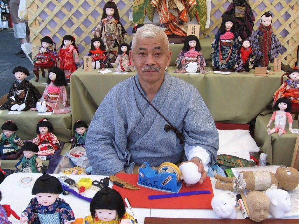 Master craftsmen, called Waza, demonstrate generations-old skills creating crafts at the 56th annual Ginza Festival in Chicago.