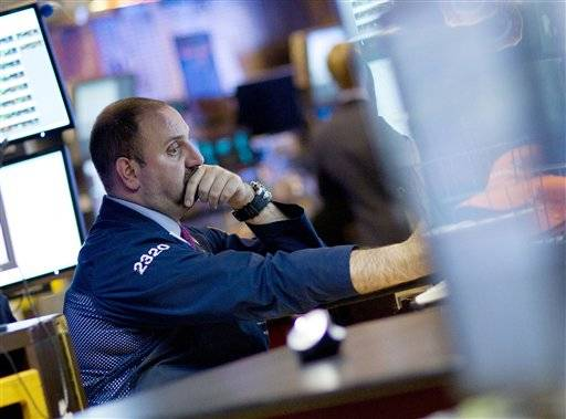 A trader works on the floor of the New York Stock Exchange, in New York. Global stock markets .