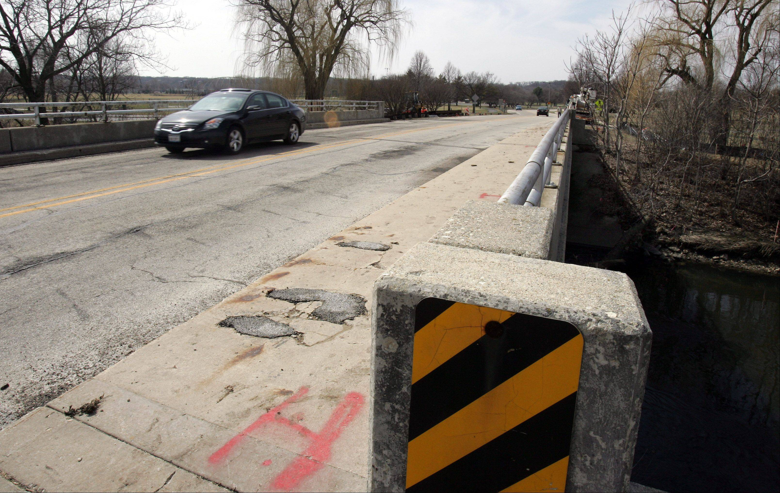 The old Short Street bridge in Lisle needed to be replaced because it was deteriorating, officials said. A replacement bridge is scheduled to open Thursday.