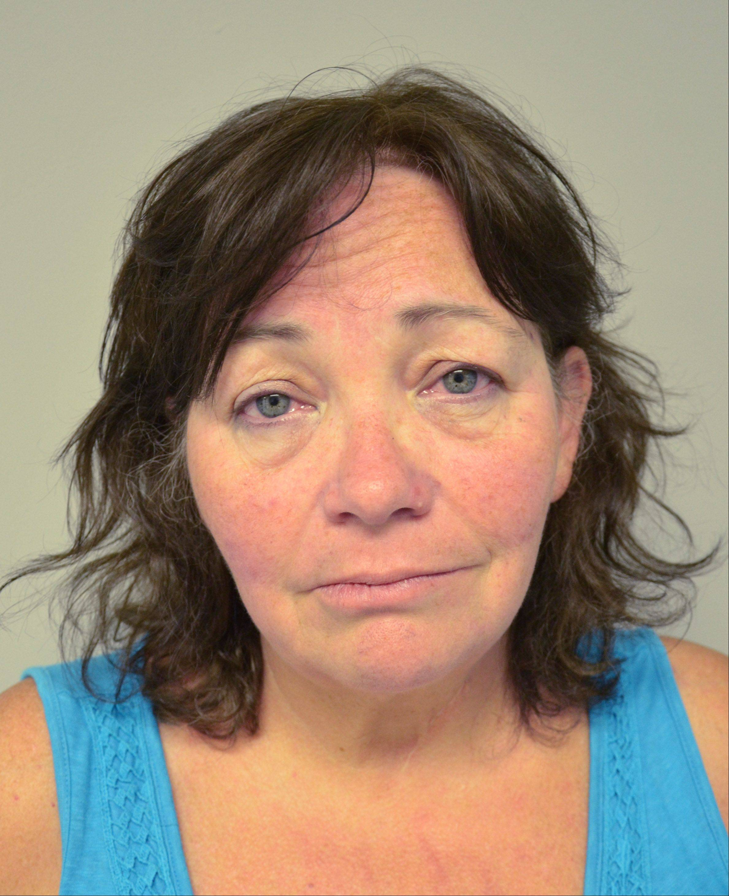 Karen Paxton, 55, of Round Lake Park, who was arrested Aug. 7 and charged with hosting an underage drinking party. She is multiple counts of unlawfully permitting a minor to become intoxicated.