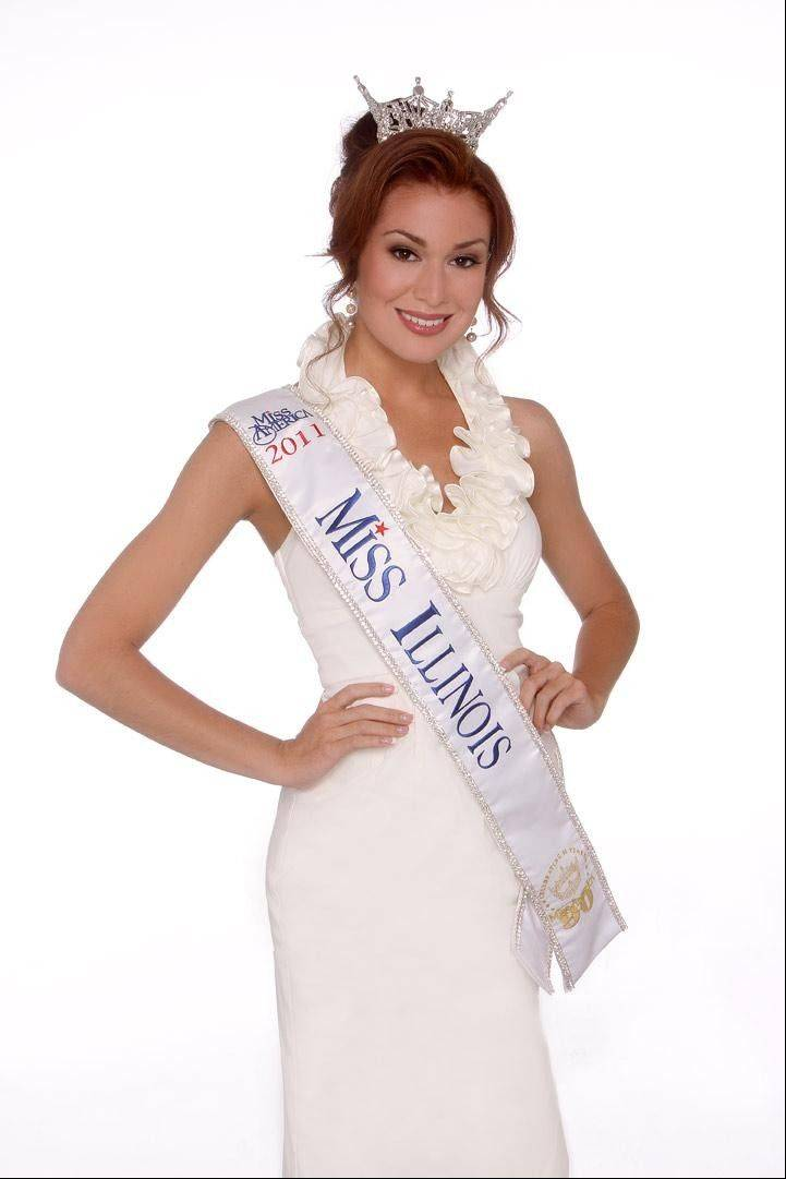 Hannah Smith of Huntley recently was crowned Miss Illinois 2011.
