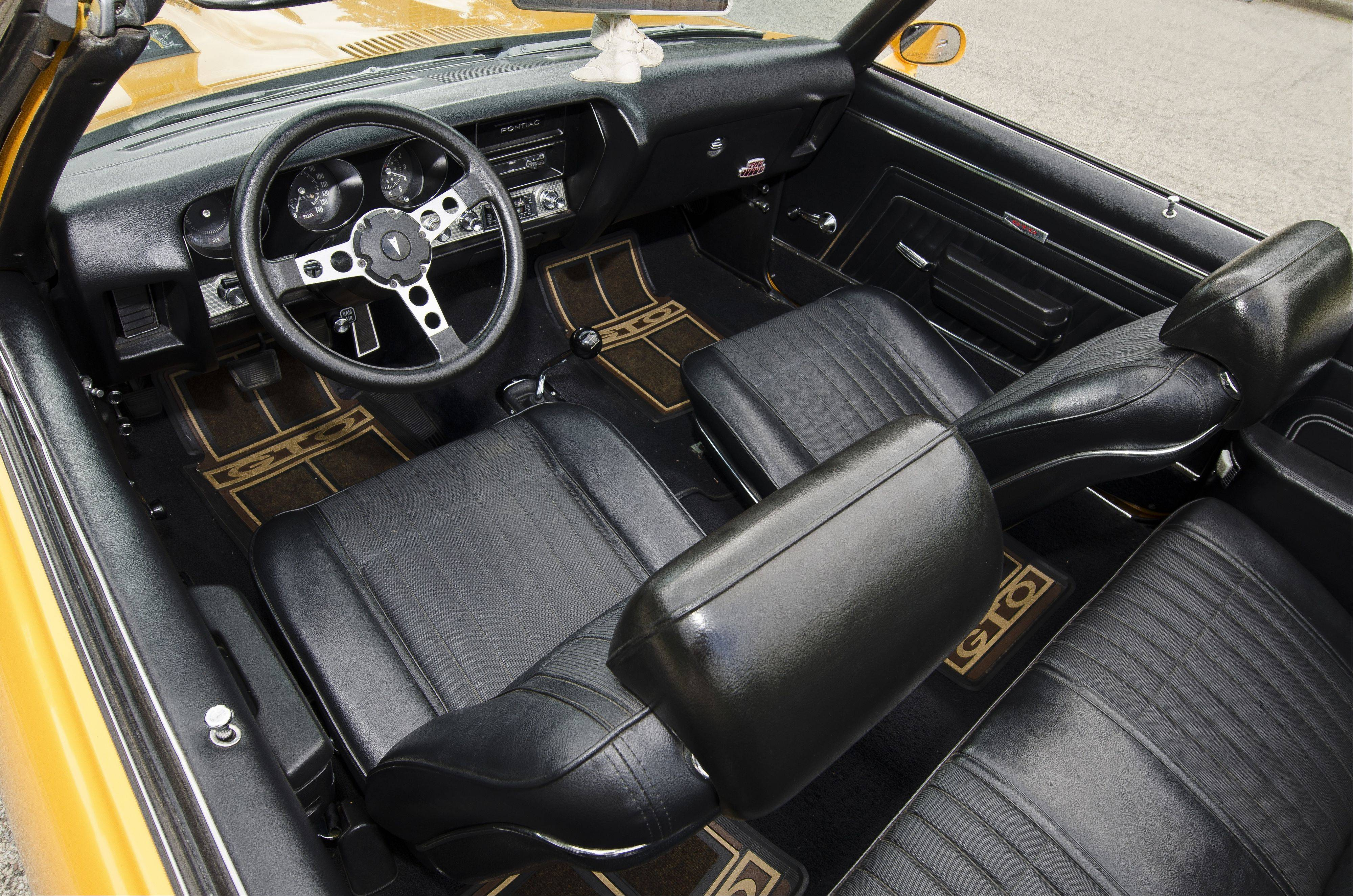 The Black Leather Interior Completes This Classic Rebuild.