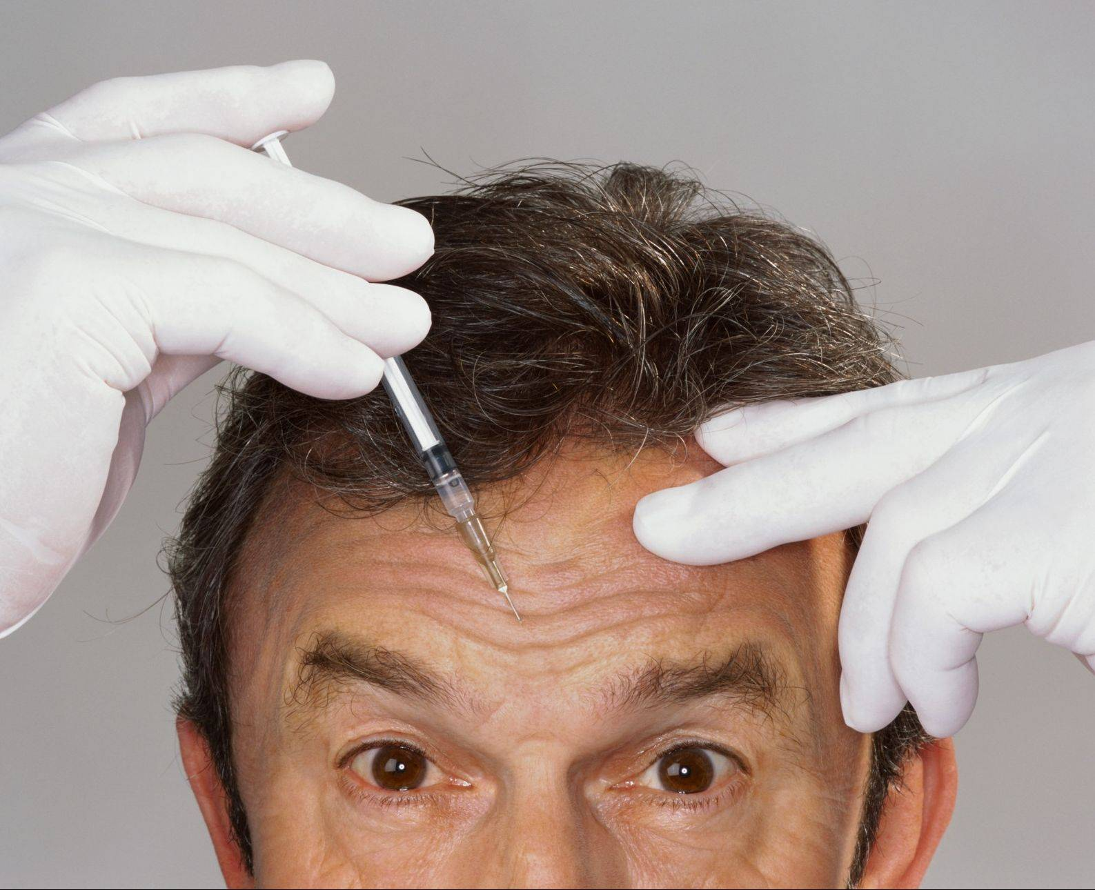 The number of men getting Botox injections and cosmetic surgery is increasing, experts say.