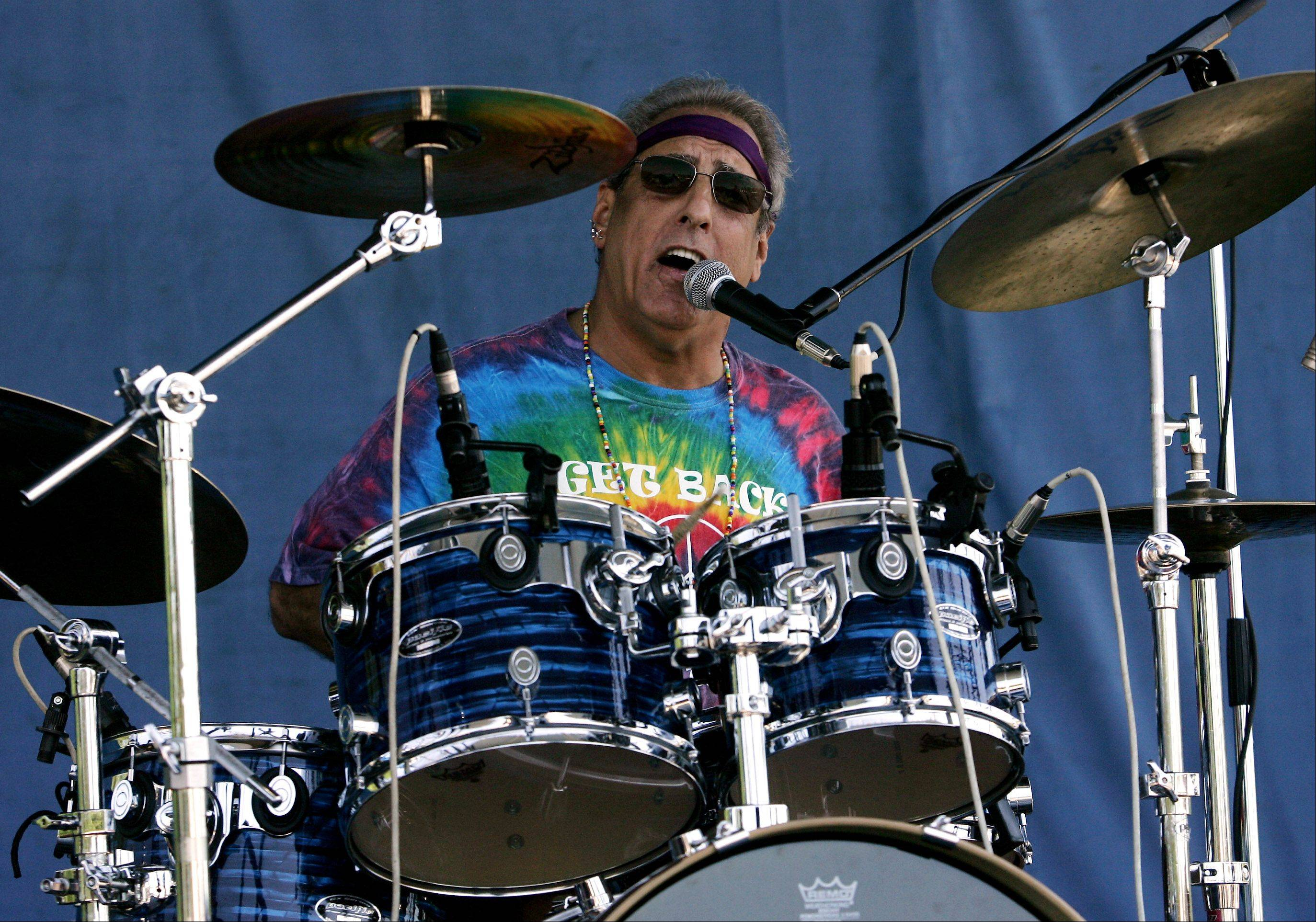 Bruce Hoffenberg of the band Get Back from Lindenhurst performs during the final day of last year's village festival. Lindenfest kicks off Thursday, Aug. 11, at the village hall and U.S. Postal Service grounds on Sand Lake Road.