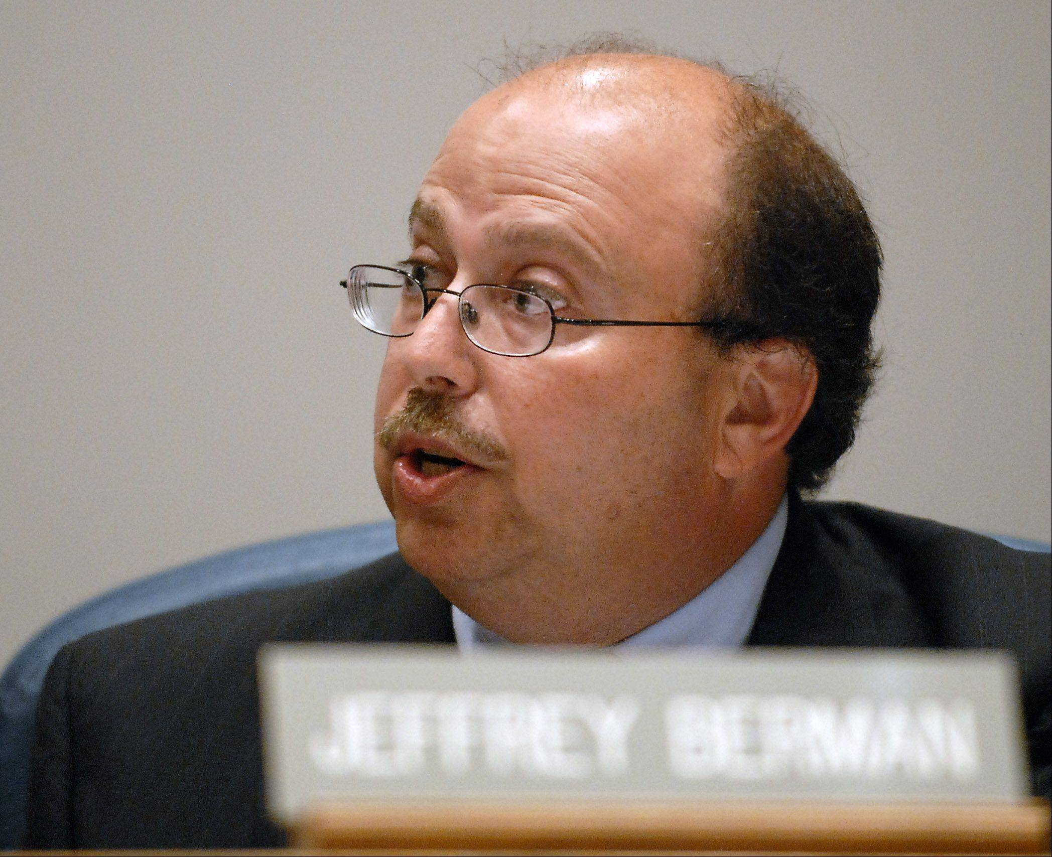 Trustee Jeffrey Berman was the most outspoken of the ComEd critics.