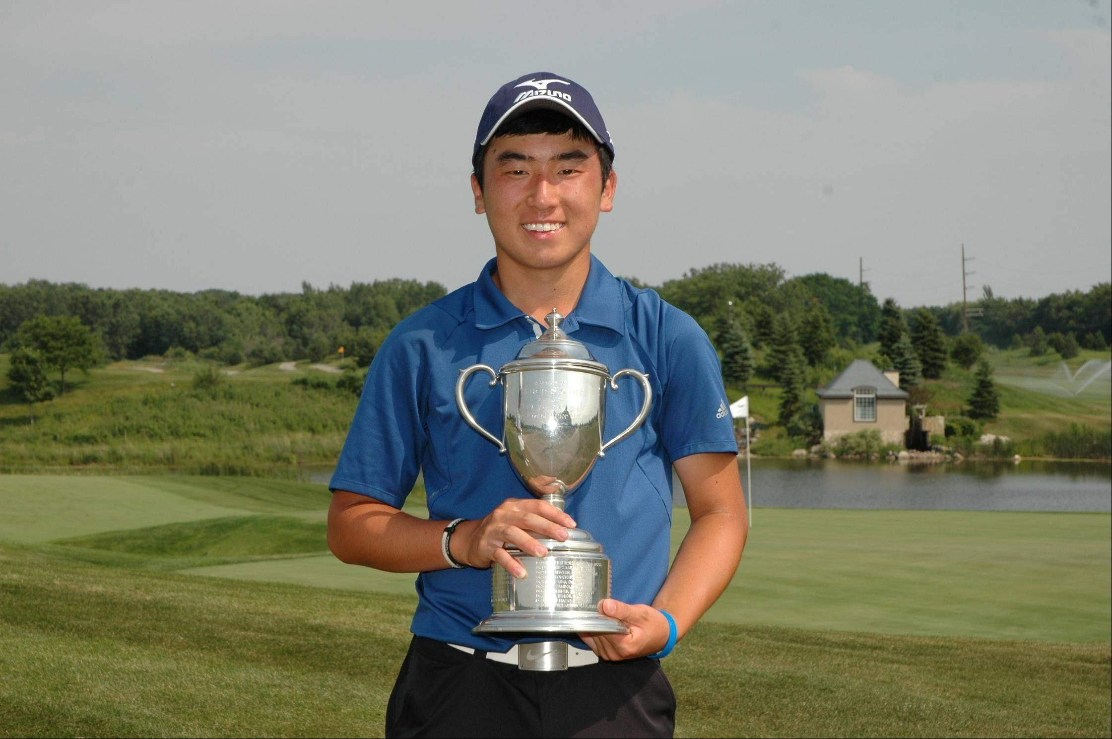 Doug Ghim, 15, of Arlington Heights, won the 42nd Illinois State Junior Amateur Championship in June at Makray Memorial Golf Club in Barrington.