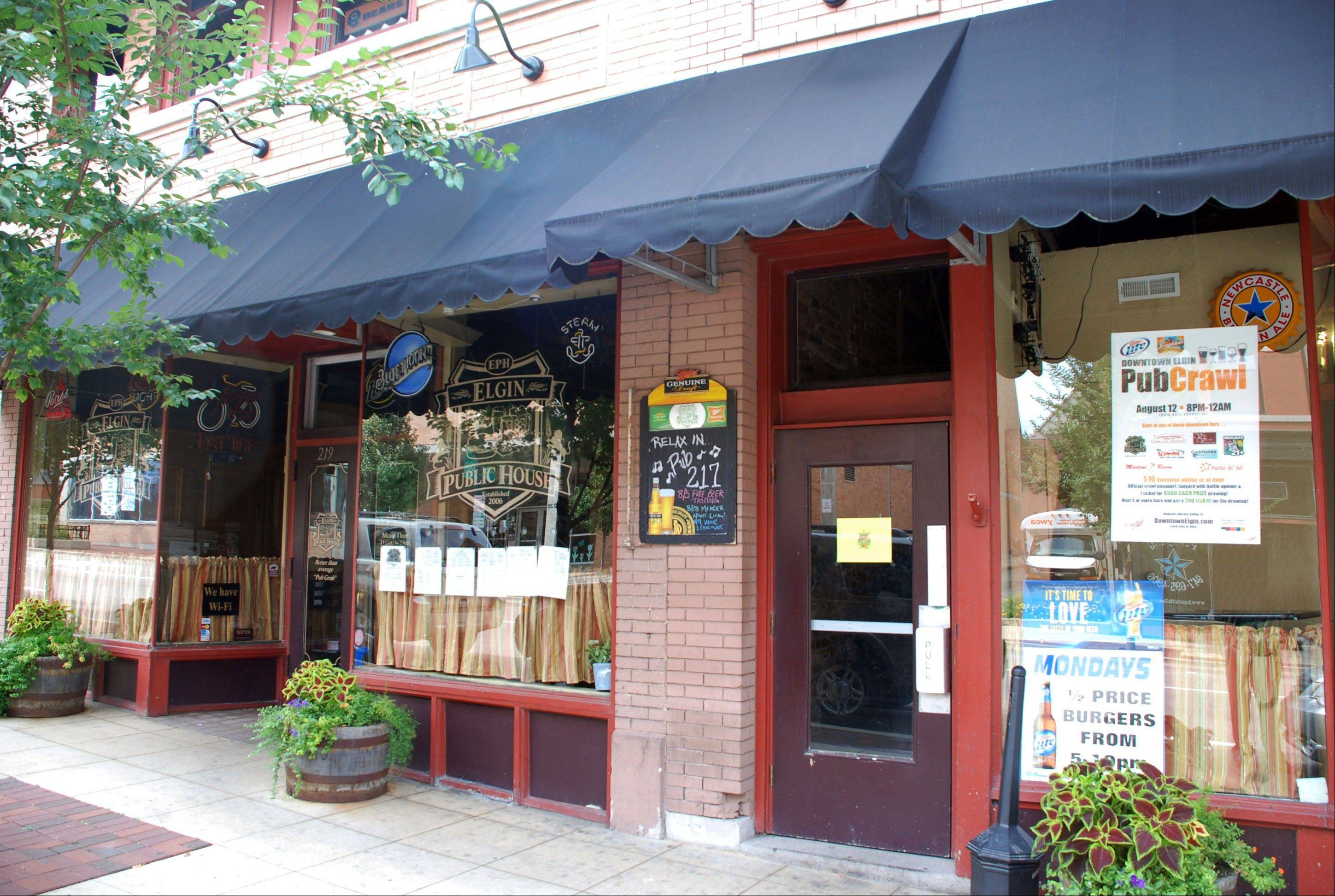 Elgin Public House, 219 E. Chicago St., will be one of the stops on Friday's Downtown Elgin Pub Crawl.