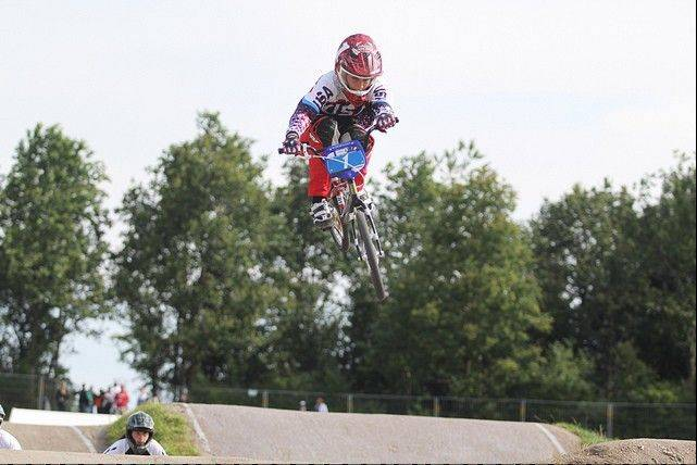 Lake Villa resident Felicia Stancil, an incoming junior at Grayslake North, recently won her 10th world title in BMX racing.