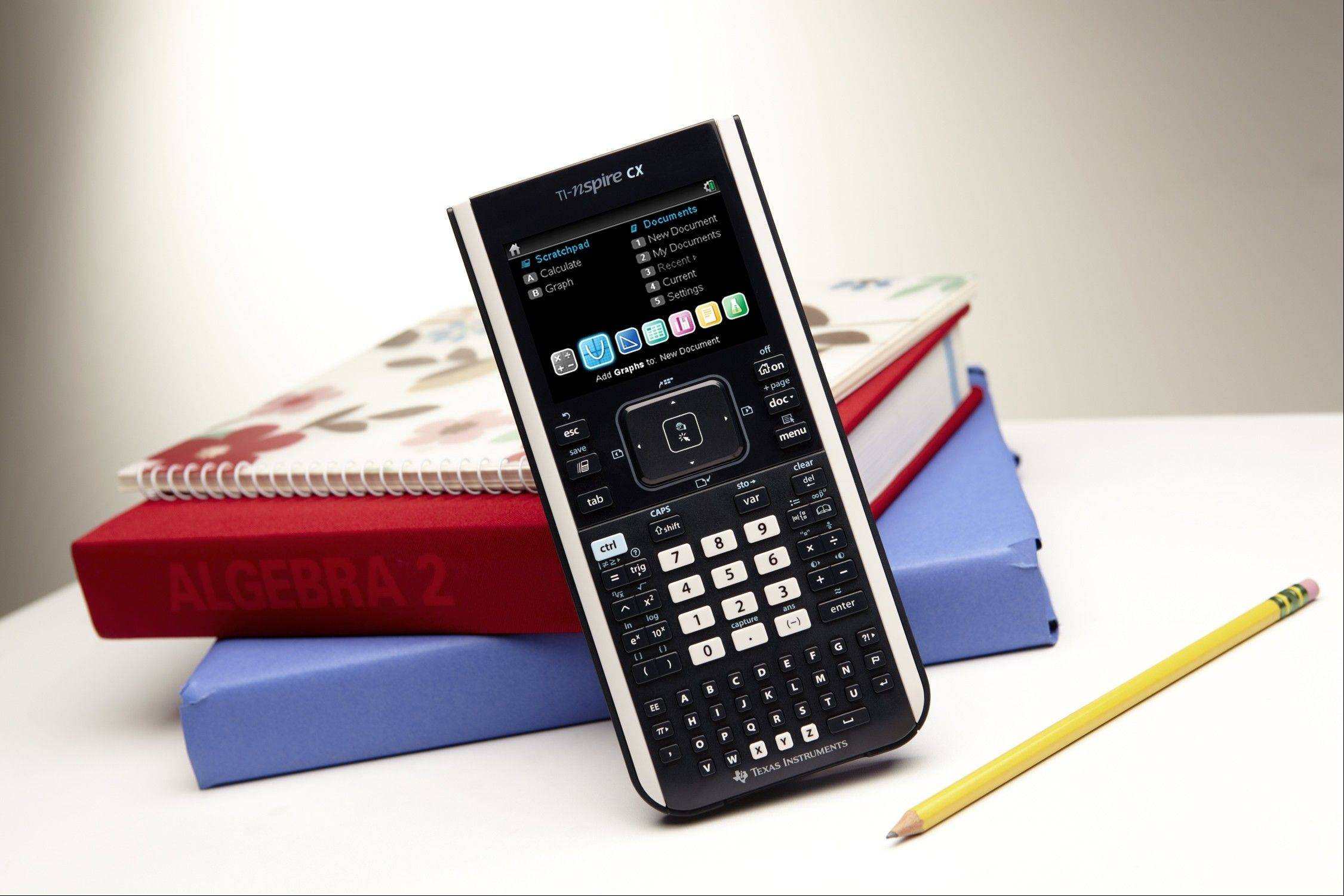 Texas Instruments� most recent calculator, the TI-Nspire CX, offers color and 3-D graphics capability.