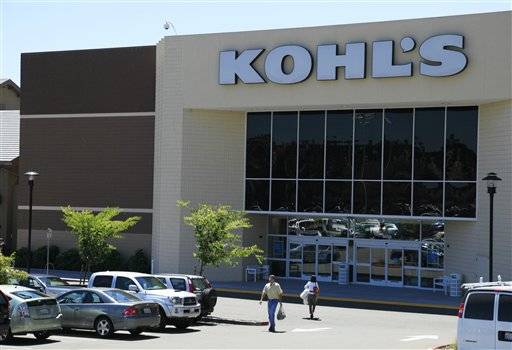 Kohl's Corp. reported that profit rose 17 percent in the second quarter despite the uncertain economy, in large part due to the success of its store-label brands such as Vera Vera Wang and Food Network.