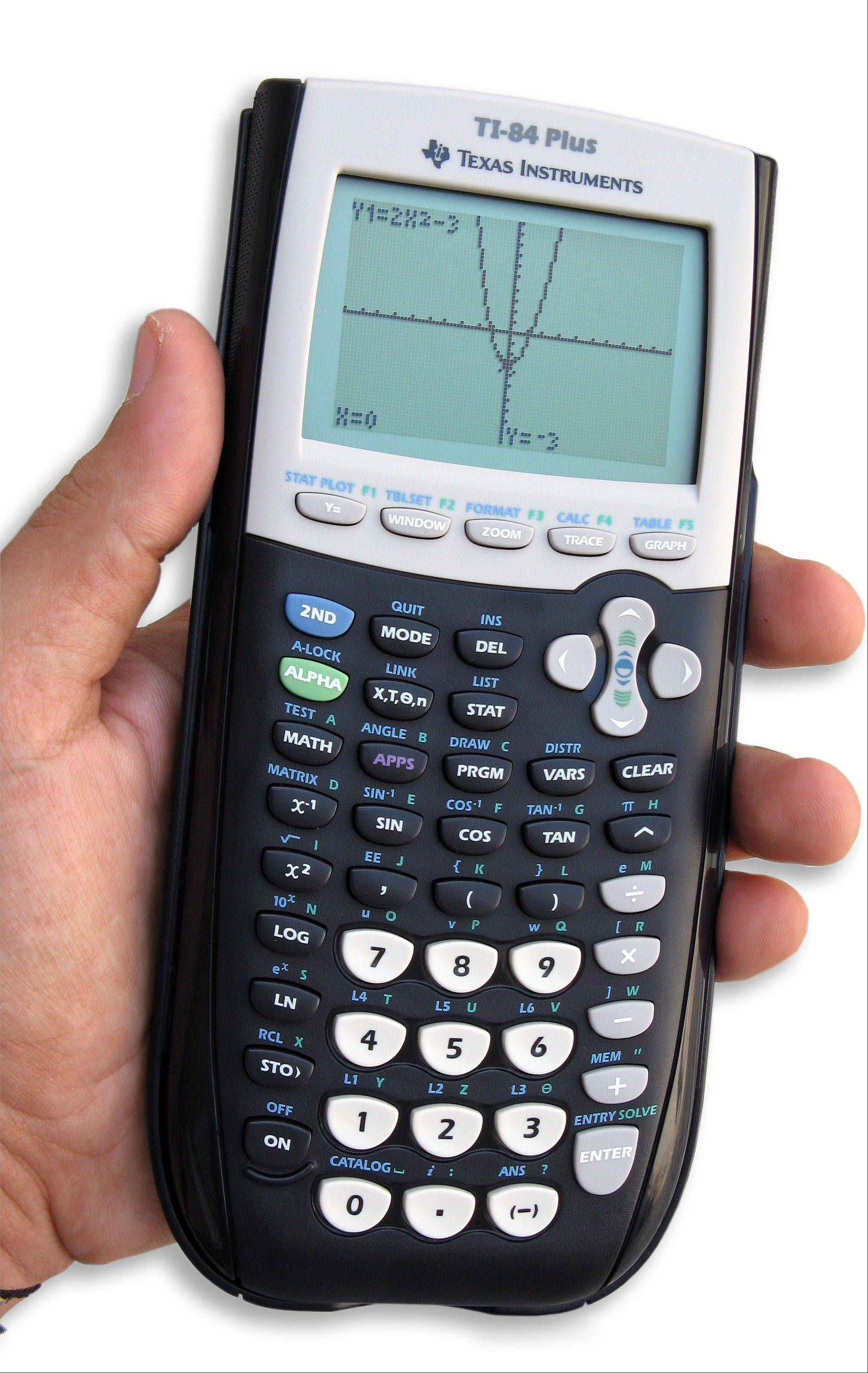 Graphing calculators allow students to plot many points on a graph and see the patterns immediately.