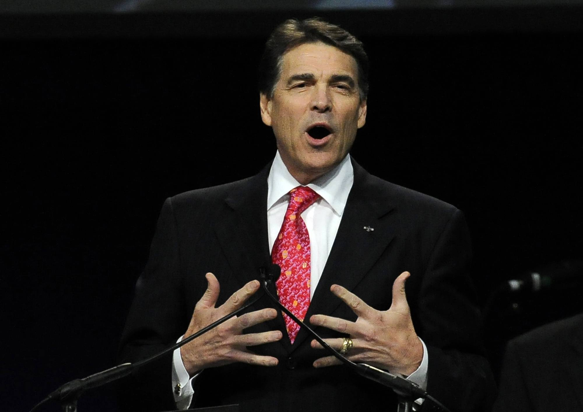 Rick Perry spokesman Mark Miner says the Texas governor is running for president.