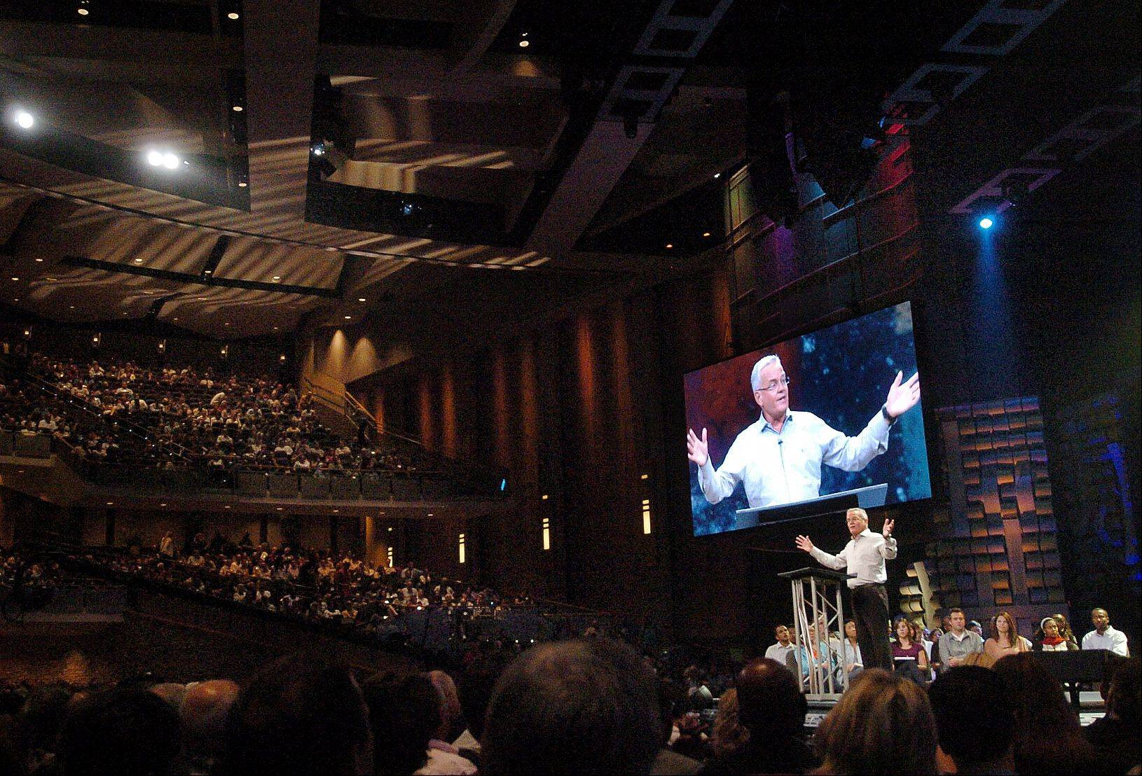 Bill Hybels, founder and senior pastor of Willow Creek Community Church, speaks at the Global Leadership Summit.