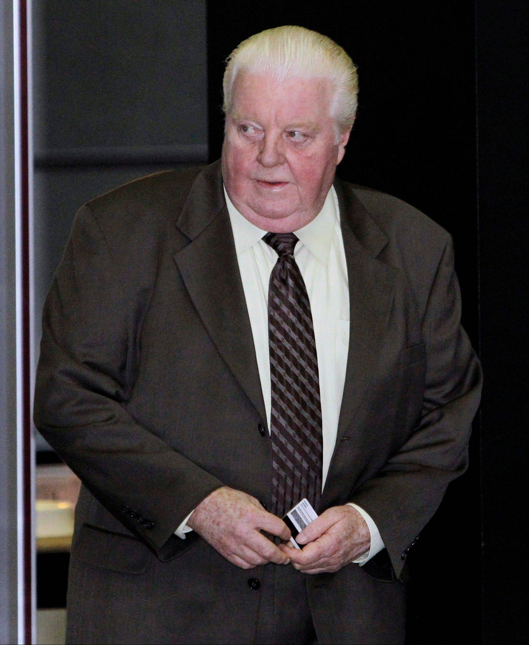 Former Chicago police Lt. Jon Burge was convicted last year of lying about the torture of suspects decades ago.