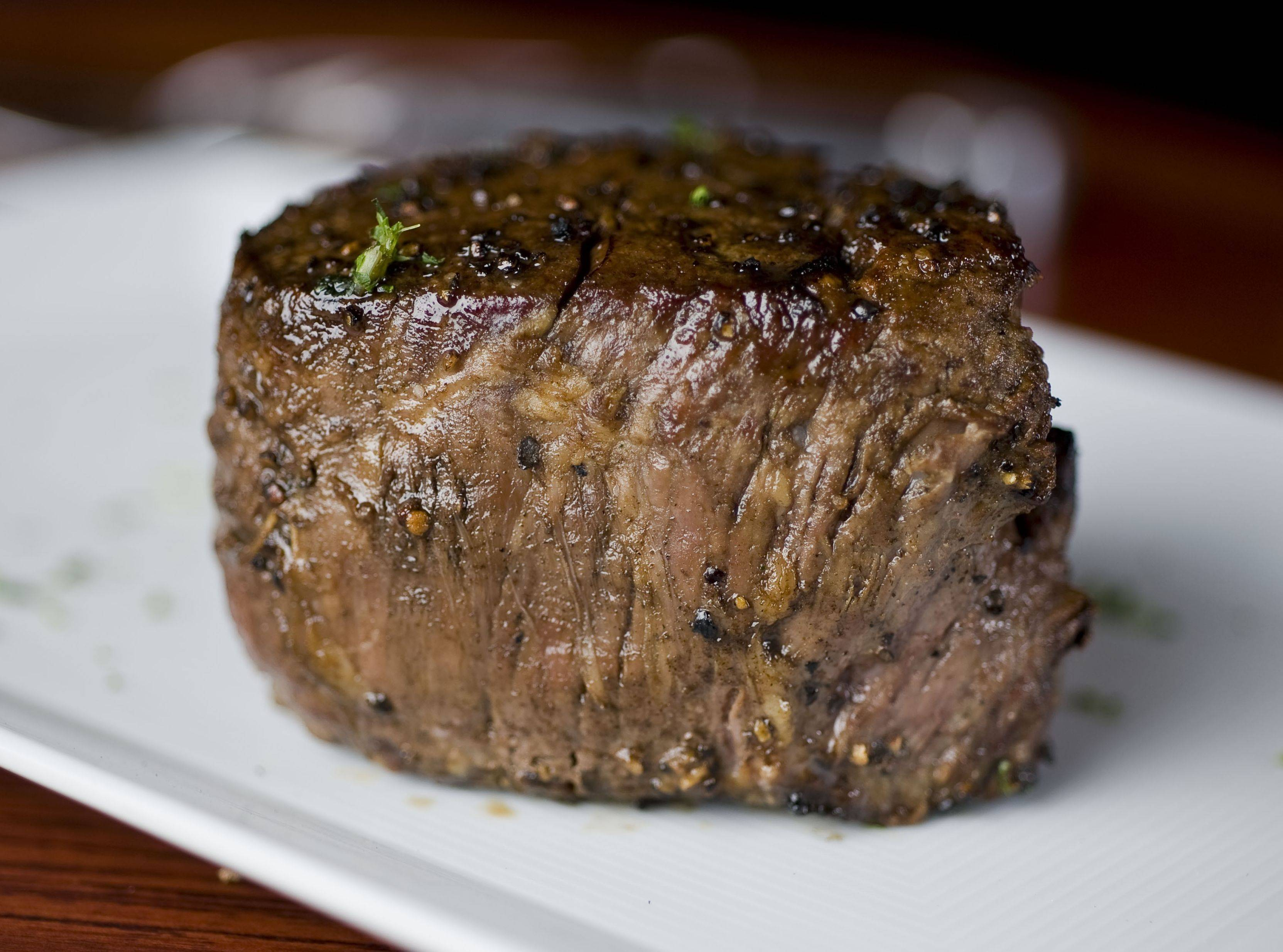 Filet mignon at Sullivan's Steakhouse