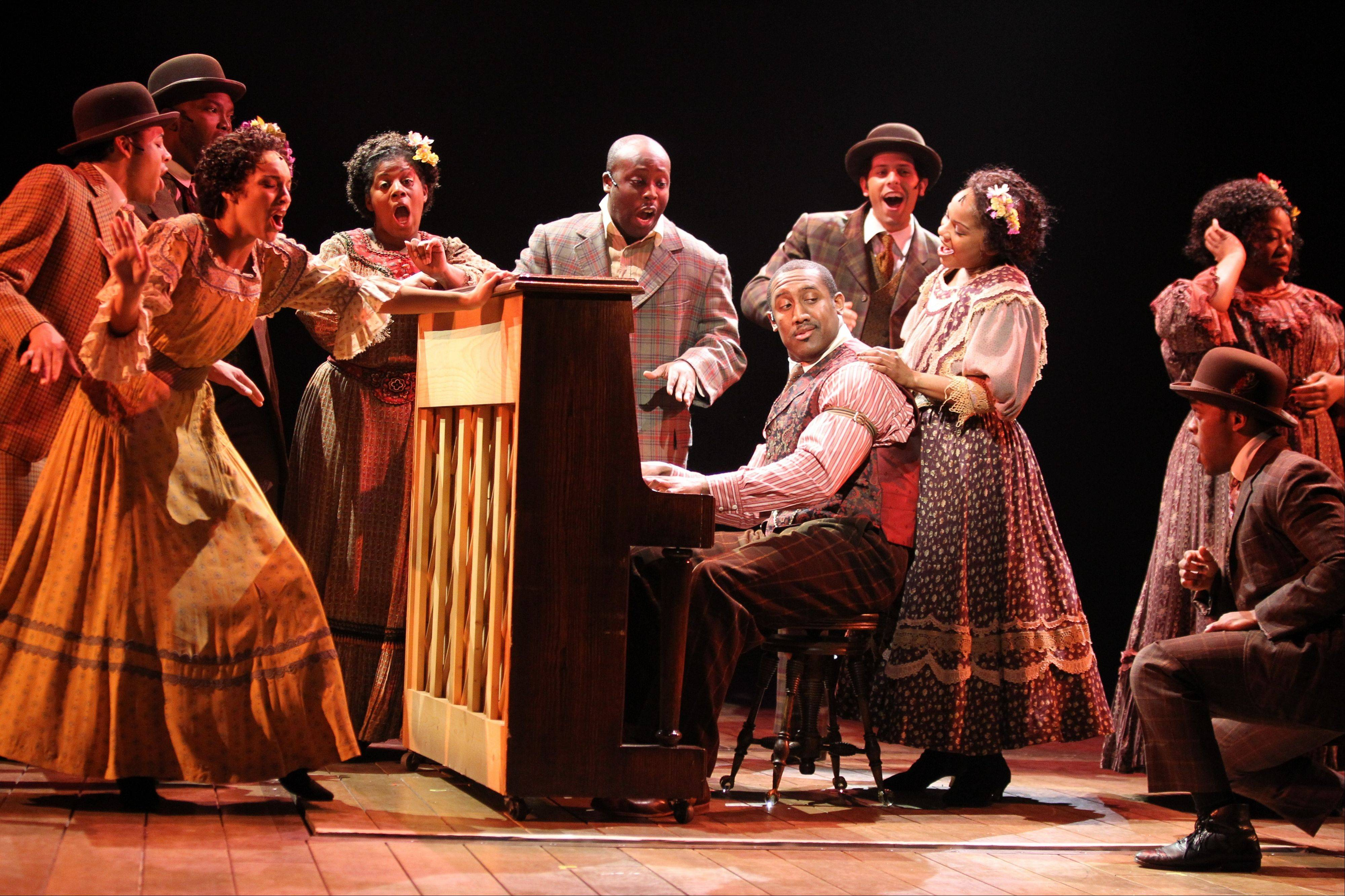 Quentin Earl Darrington — center, who starred as Coalhouse Walker in Drury Lane Theatre�s award-winning production of �Ragtime� — joins the national tour of �Memphis.�