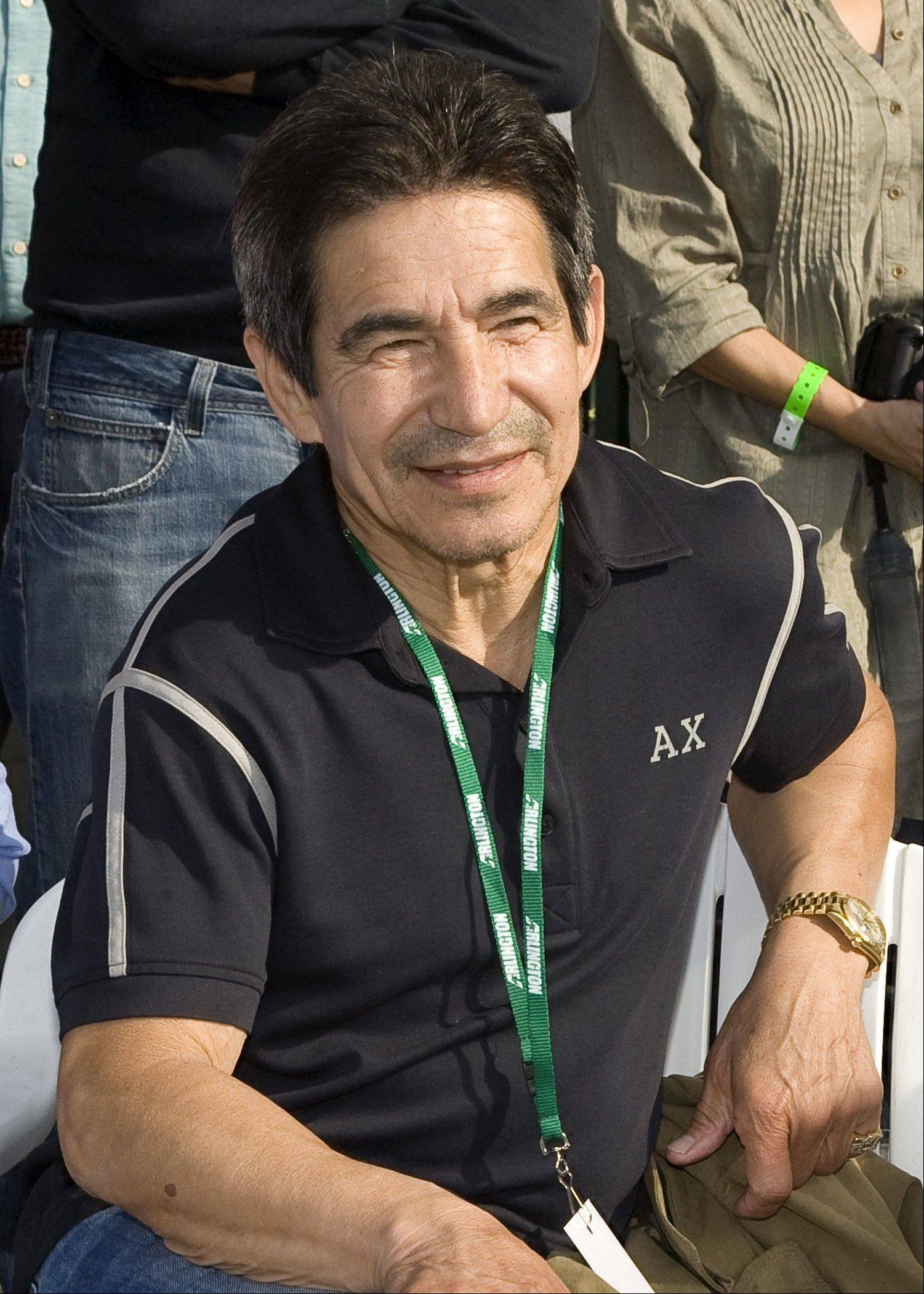 Legendary jockey Laffit Pincay rode in nine Arlington Million races.