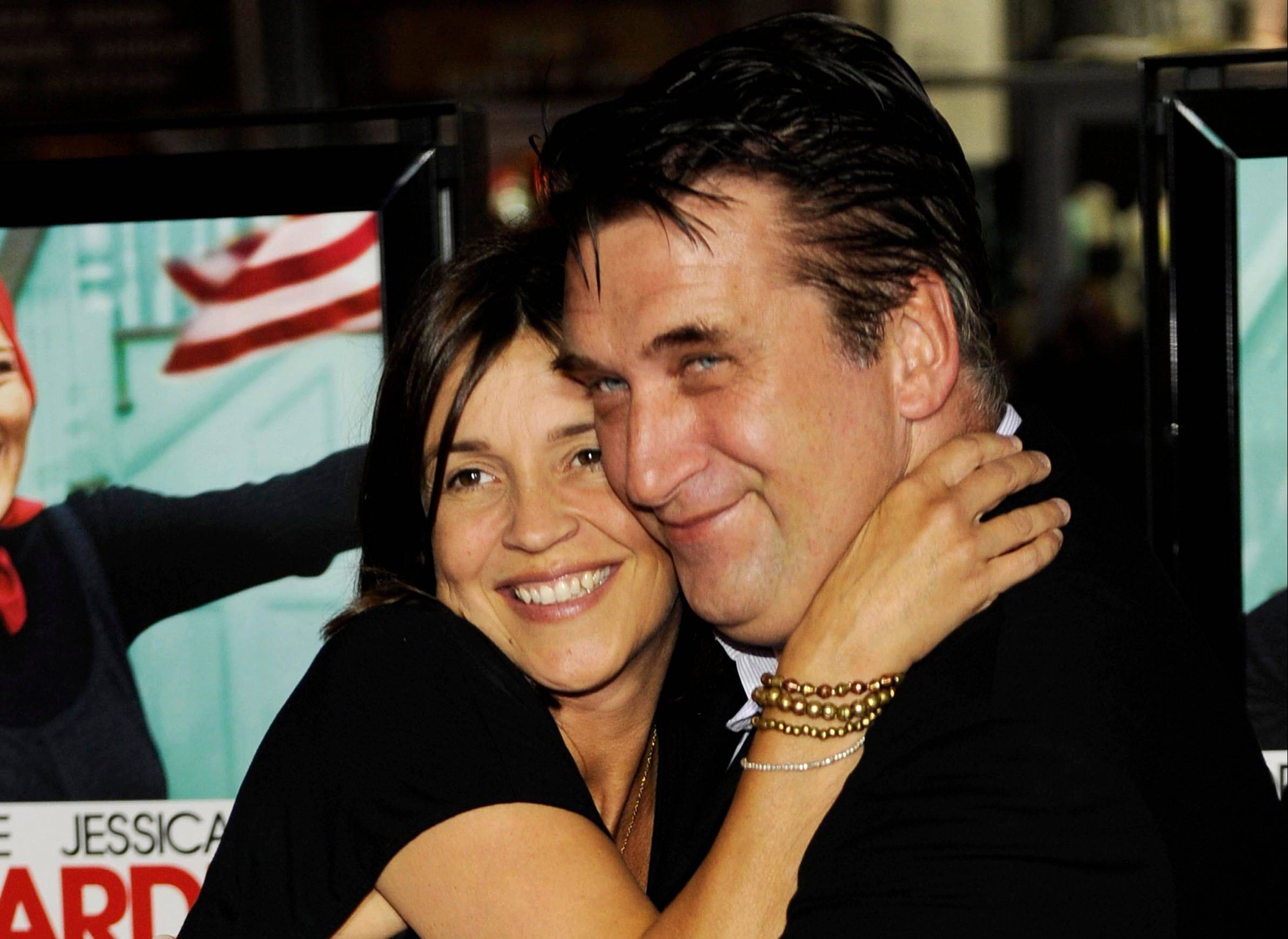 "FILE - In this April 16, 2009 file photo, actor Daniel Baldwin, a cast member in ""Grey Gardens,"" poses with his wife Joanne at the premiere of the HBO film in Los Angeles. Joanne Baldwin told The Oregonian on Friday Aug. 12, 2011 that ""we have a lot of work to do in our marriage and a lot of healing to do."" Daniel Baldwin filed for divorce last month and was granted a restraining order against his 41-year-old wife. The couple married in July 2007."