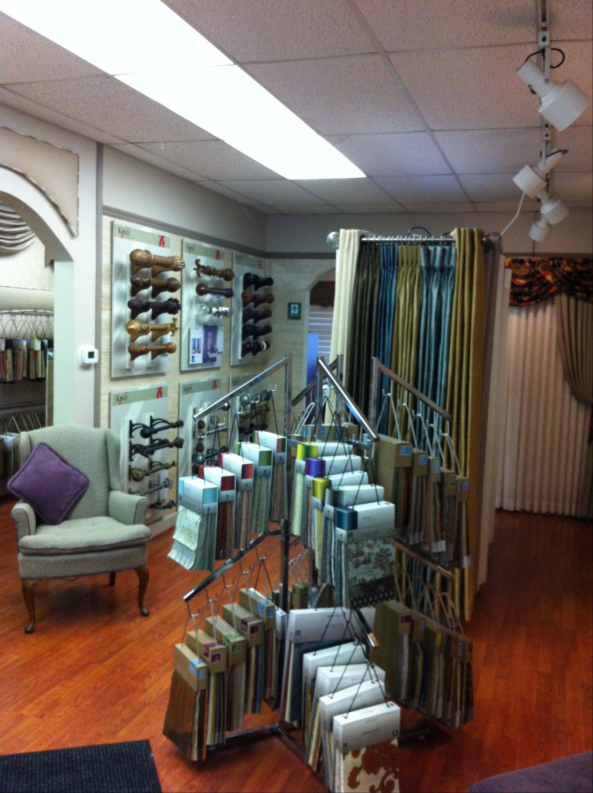 The Window Fashions Unlimited showroom is at 120 S. Northwest Hwy., Palatine.