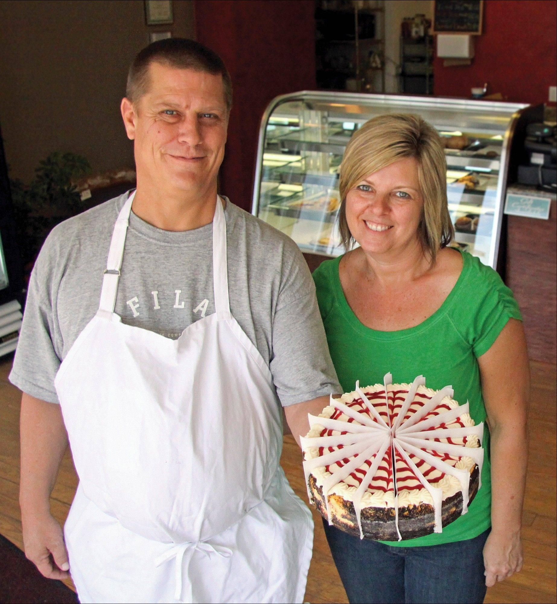 Dee and Tom Dannenberg spent the last seven years building a cheesecake business and developing other pastry recipes in preparation for the June 30 opening their own bakery and retirement business.