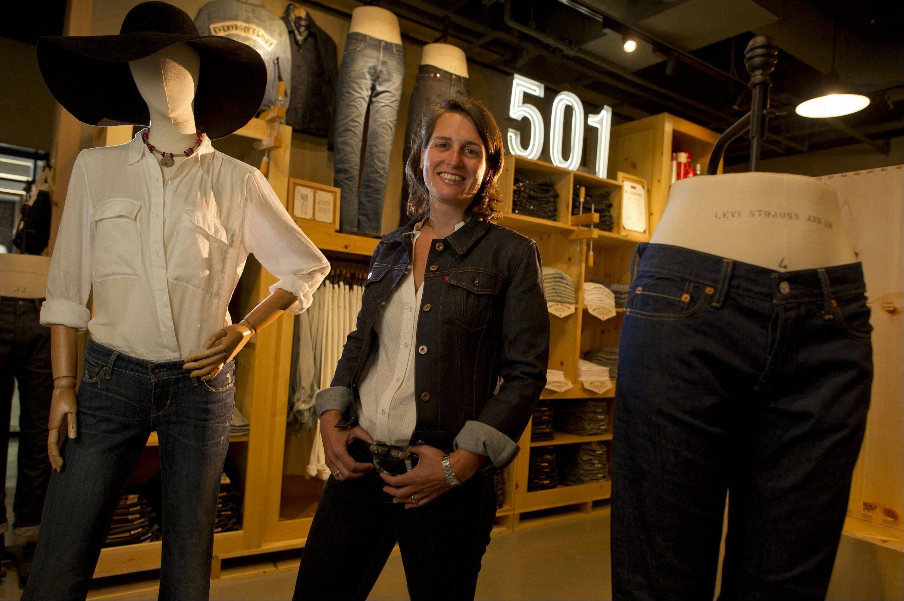 Rebecca Van Dyck�s hiring at Levi Strauss & Co. is part of an overhaul that includes new leadership, a shift in management structure to eliminate regional control over design and a reduction in how many products are released each year.