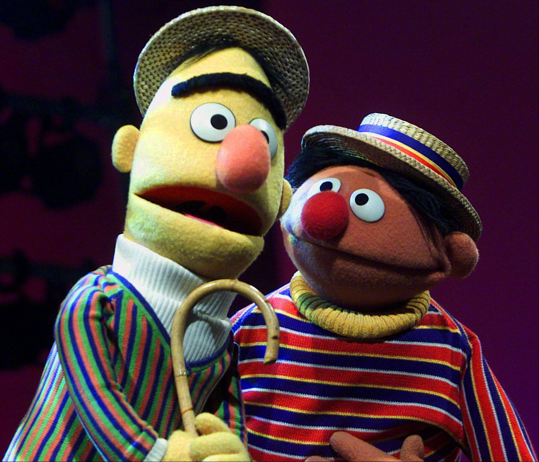 An online petition calling for the nuptials of Muppet flat-mates Bert and Ernie has sparked controversy. Chicago resident Lair Scott, who posted the petition, is seeking matrimony for the �Sesame Street� chums as a way to make gay and lesbian kids who watch the show feel better about themselves.