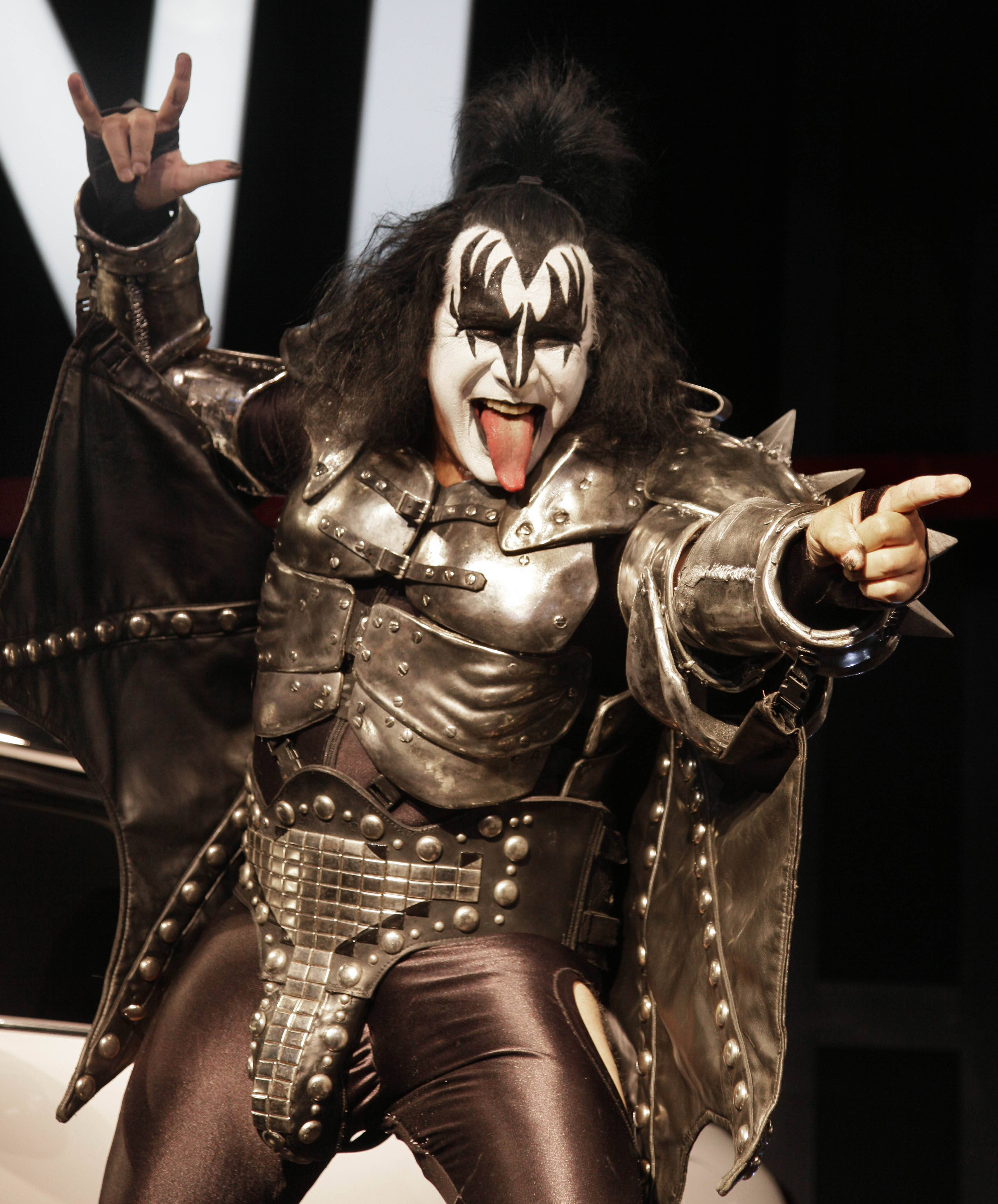 On Tuesday, Gene Simmons and Kiss were dropped from the Michael Jackson tribute show that's set for October, concert organizers said.