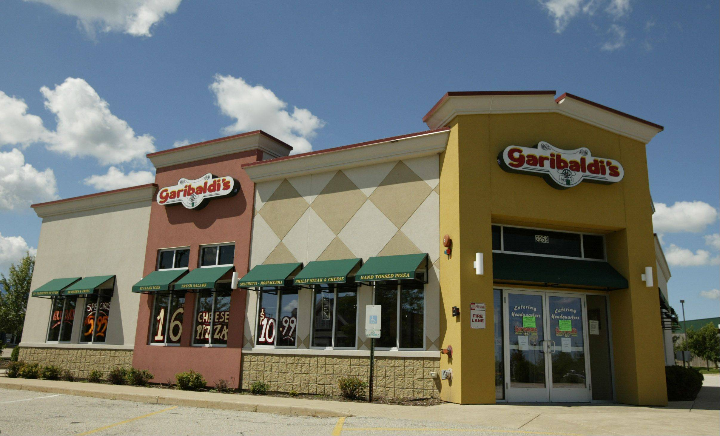 Garibaldi's restaurant in Carpentersville has closed, with its license revoked by the state for failing to pay sales taxes.
