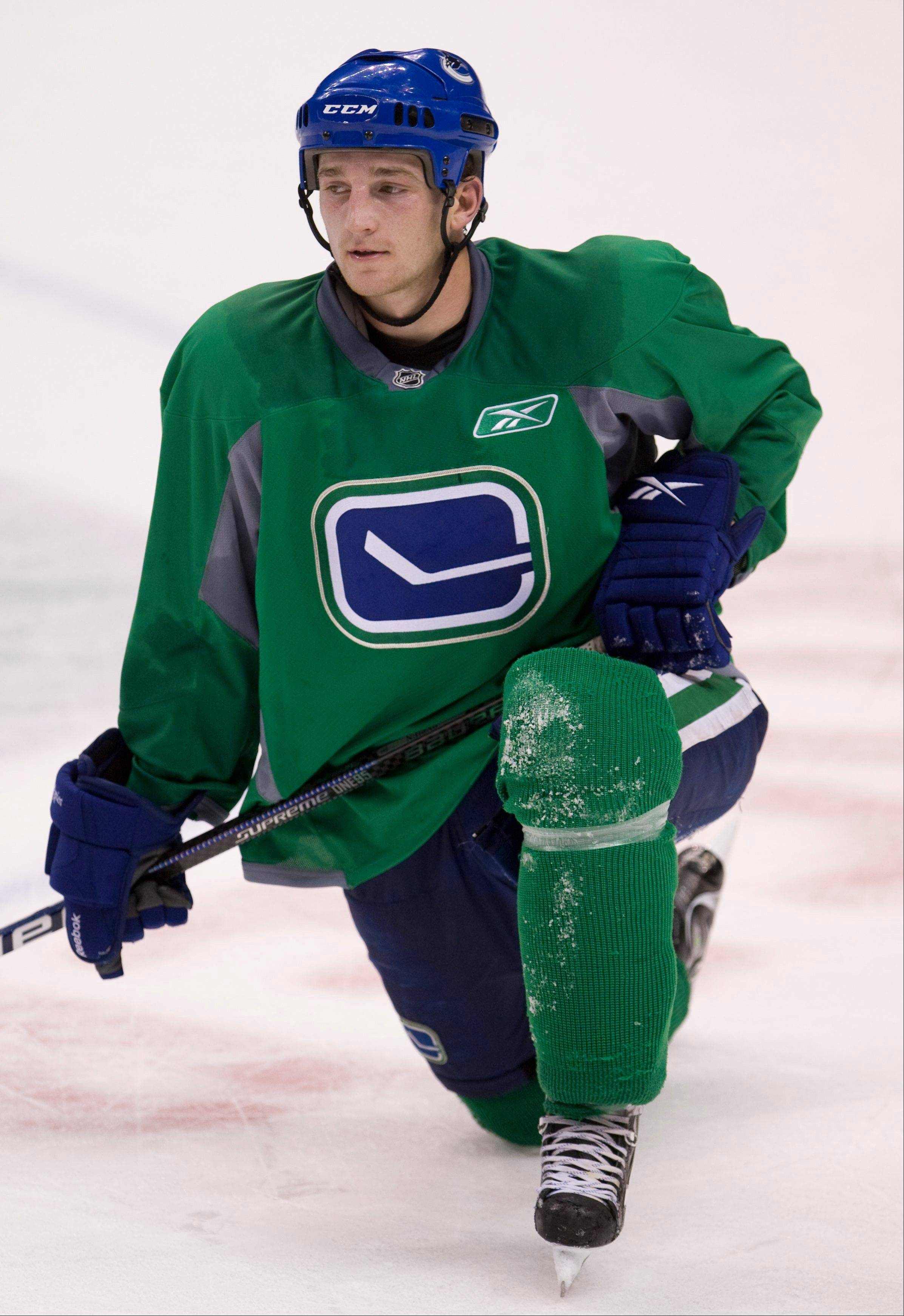 Rick Rypien was found dead Monday in his Coleman, Alberta, home.