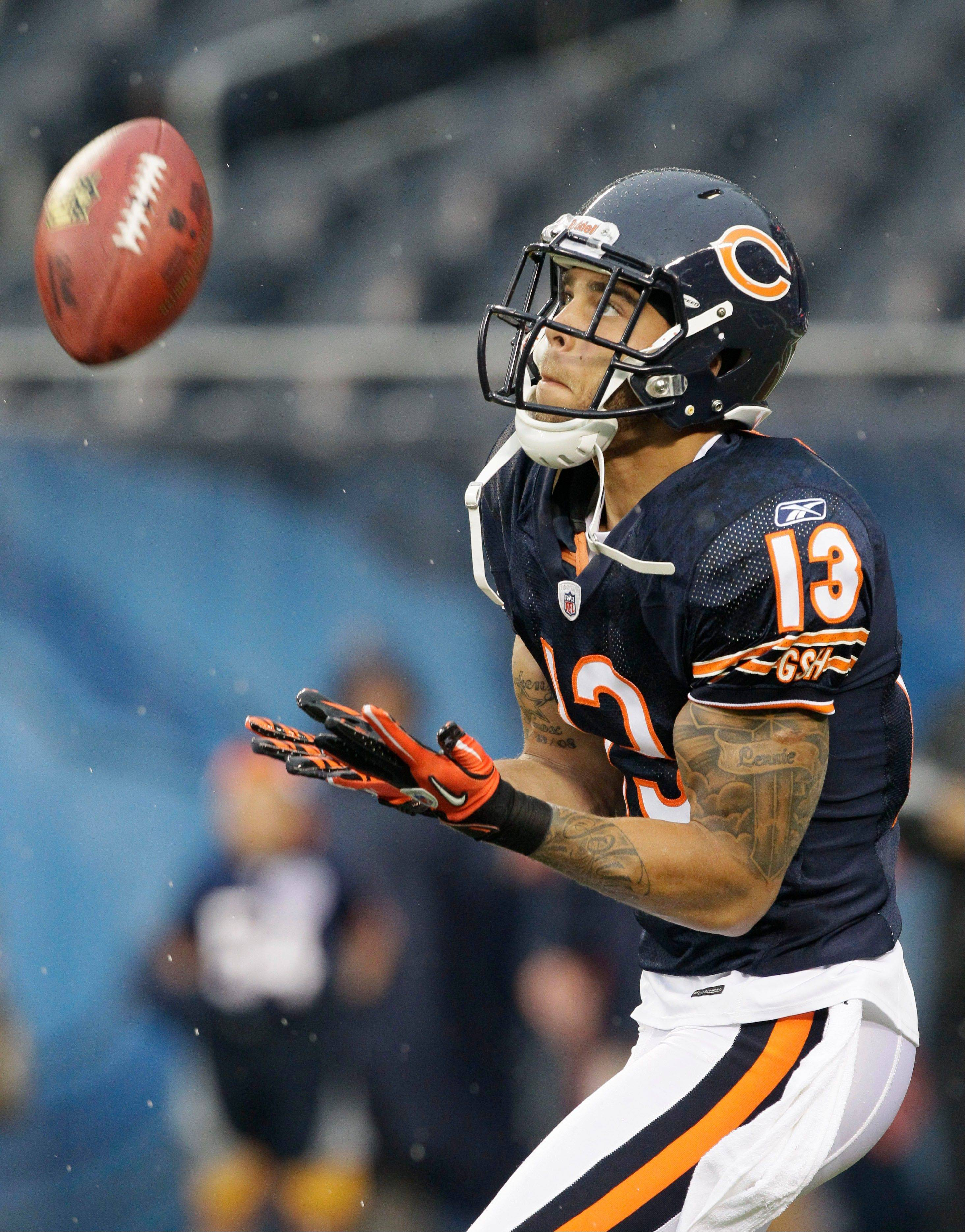 After leading the team in receiving yards last season, Bears wide receiver Johnny Knox finds himself fighting for playing time with the acquisition of veteran Roy Williams, who was given a spot with the first team offense.