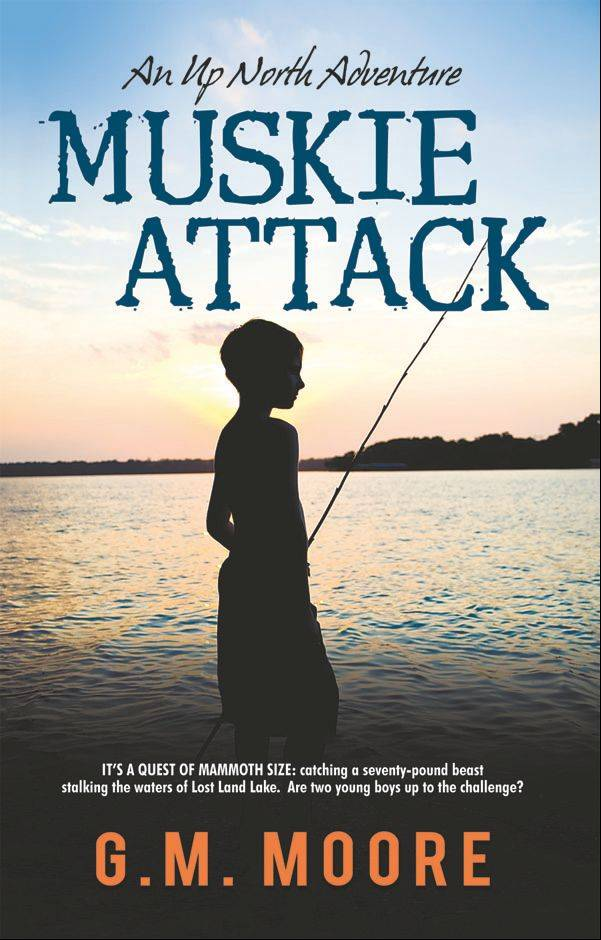 �Muskie Attack� is the first book in the �Up North Adventure� series targeting ages 9 to 12.
