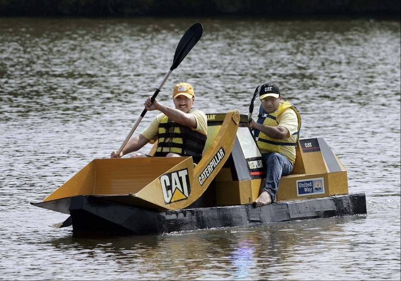 Fox Valley United Way Will Launch Its Annual Fundraising Campaign With Cardboard Boat Races Saturday In